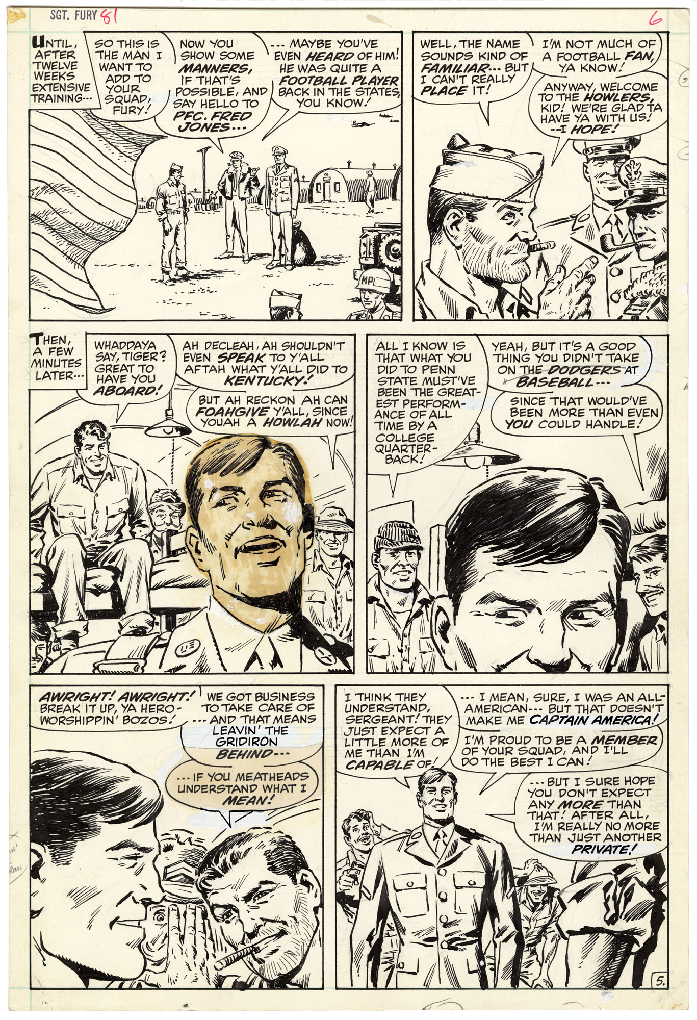 Sgt. Fury and His Howling Commandos #81 p5