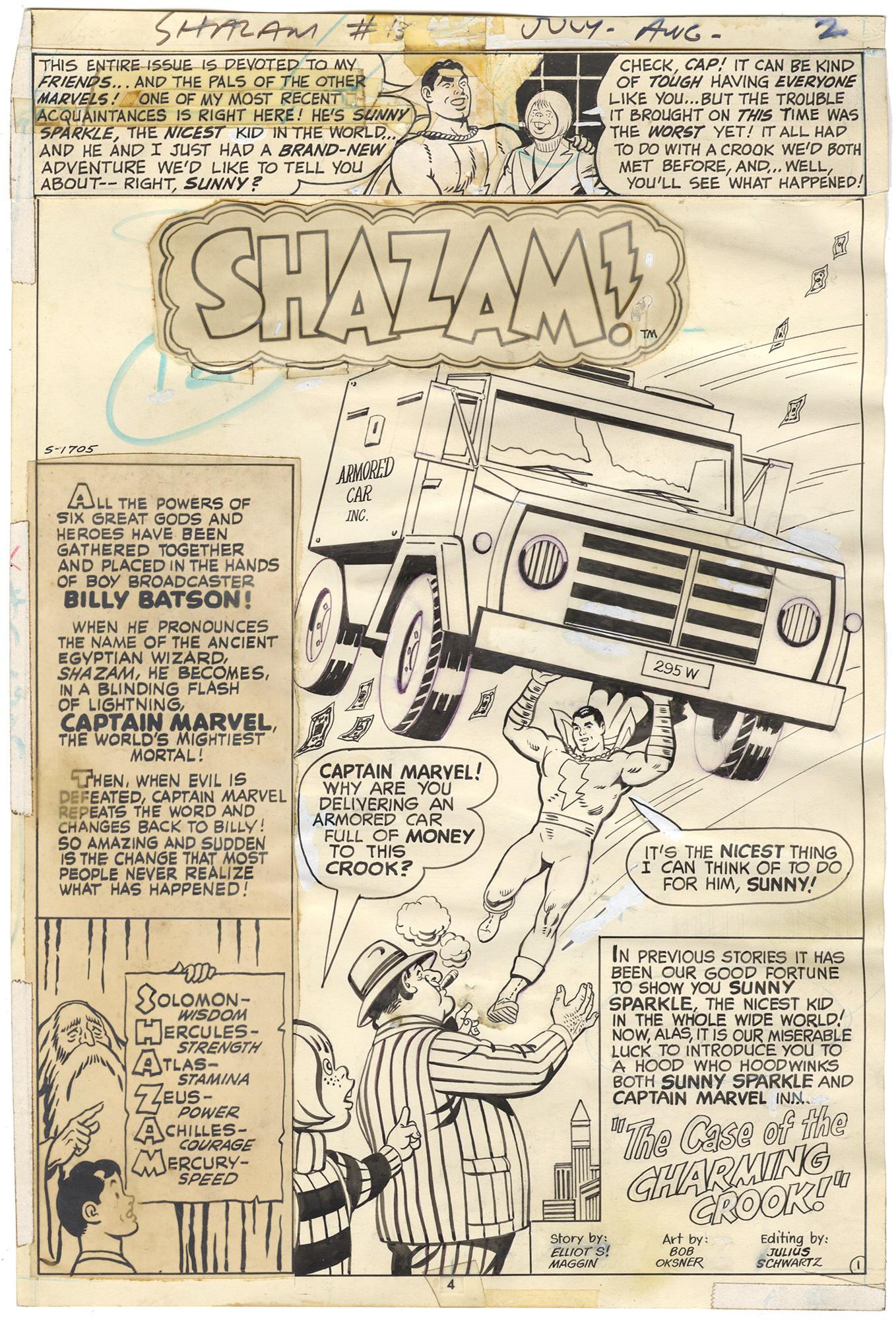 Shazam! #13 p1