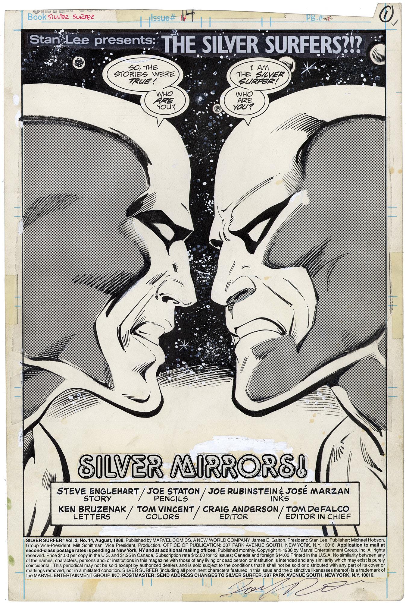 Silver Surfer #14 p1