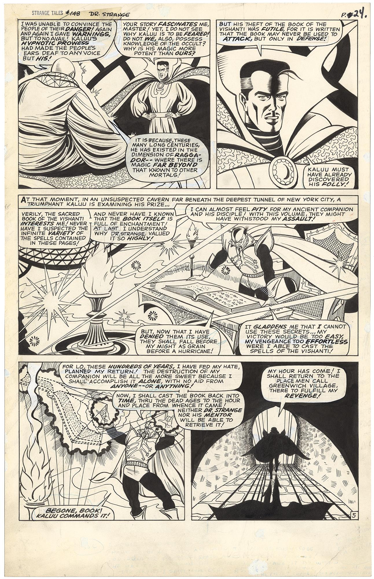 Strange Tales #148 p5