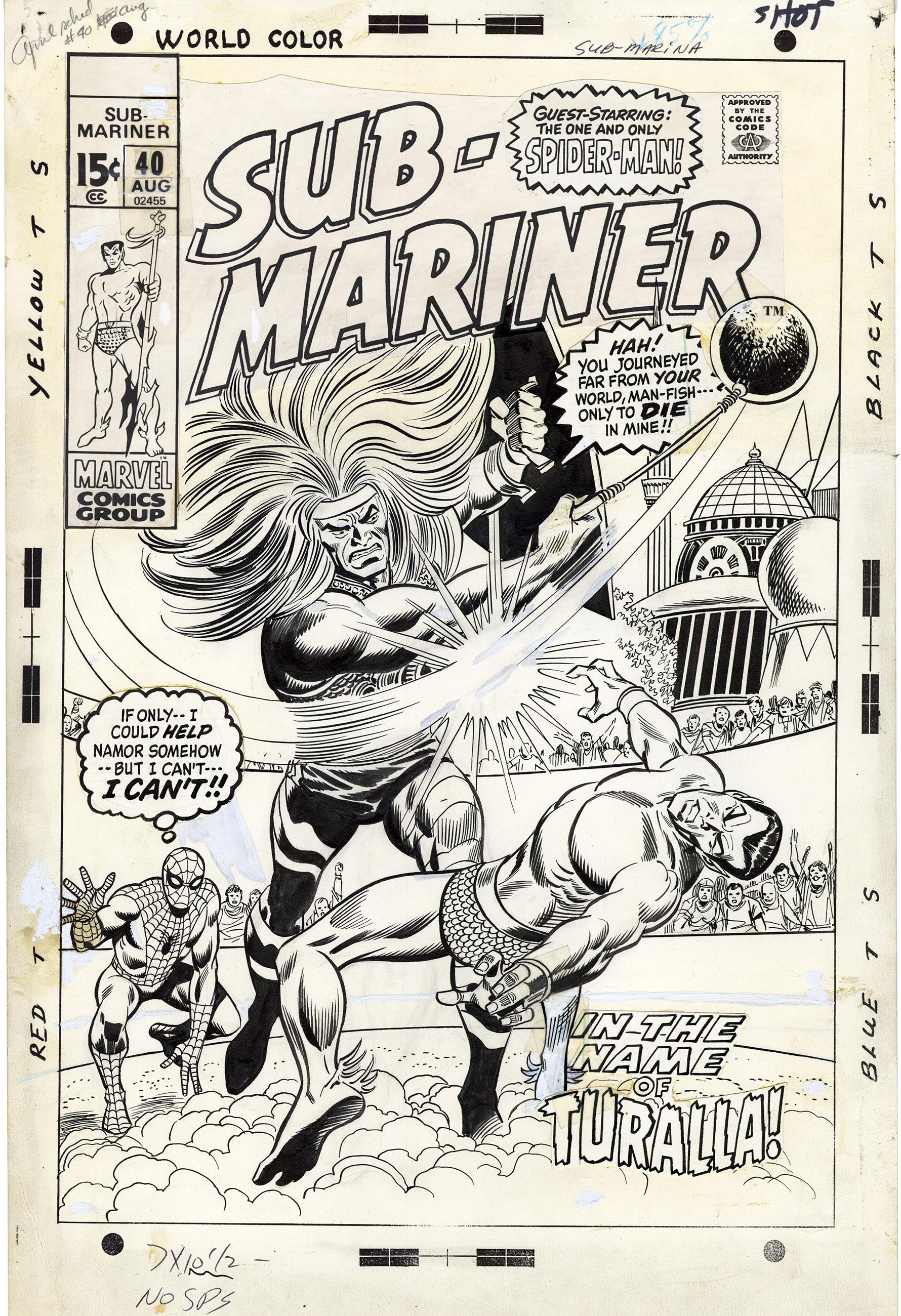 Sub-Mariner #40 Cover