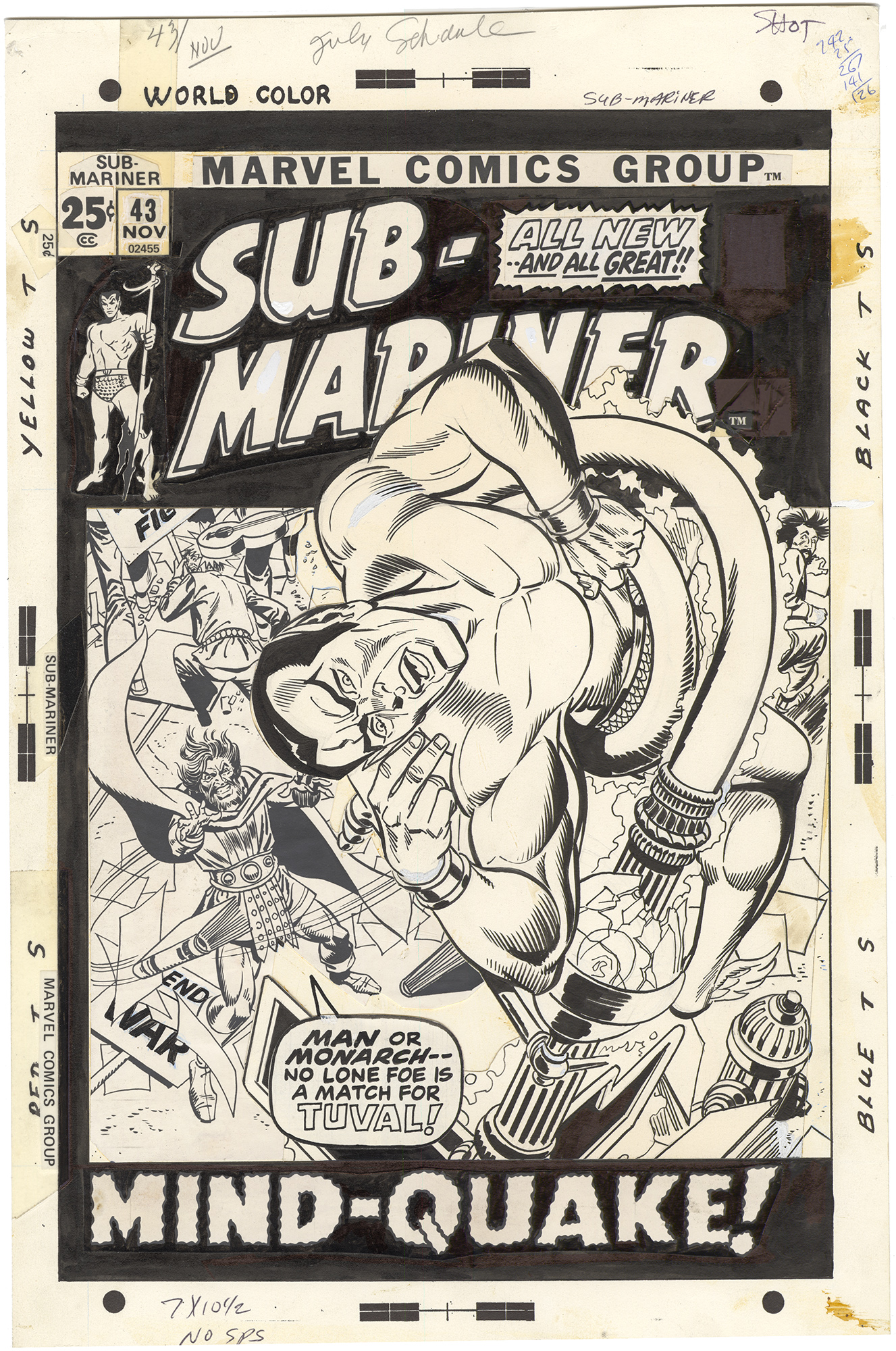 Sub-Mariner #43 Cover