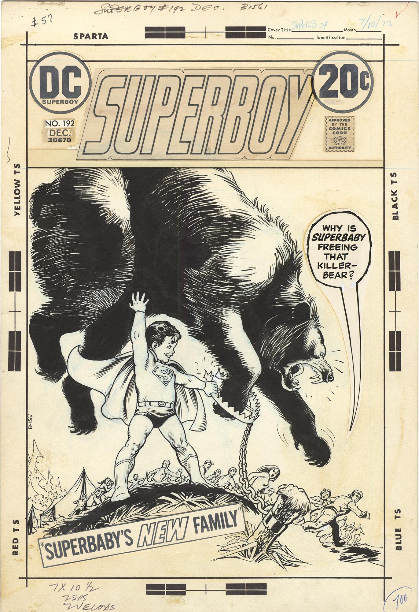 Superboy #192 Cover