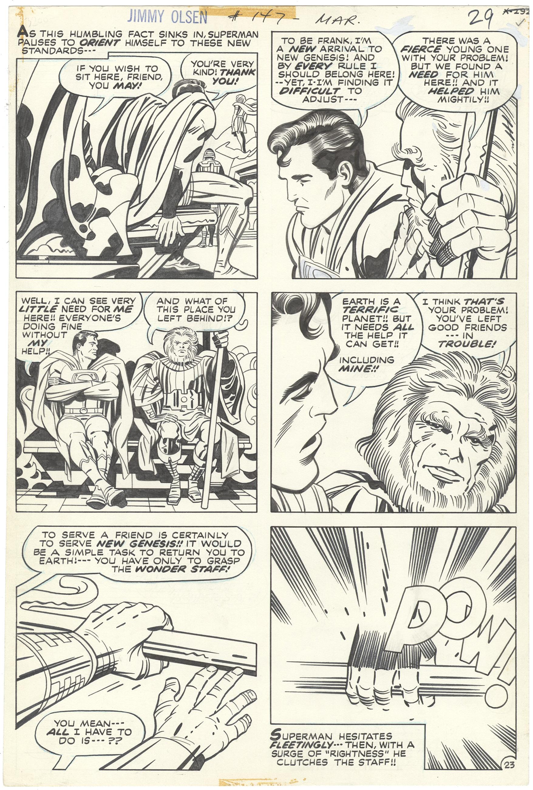 Superman's Pal Jimmy Olsen #147 p23