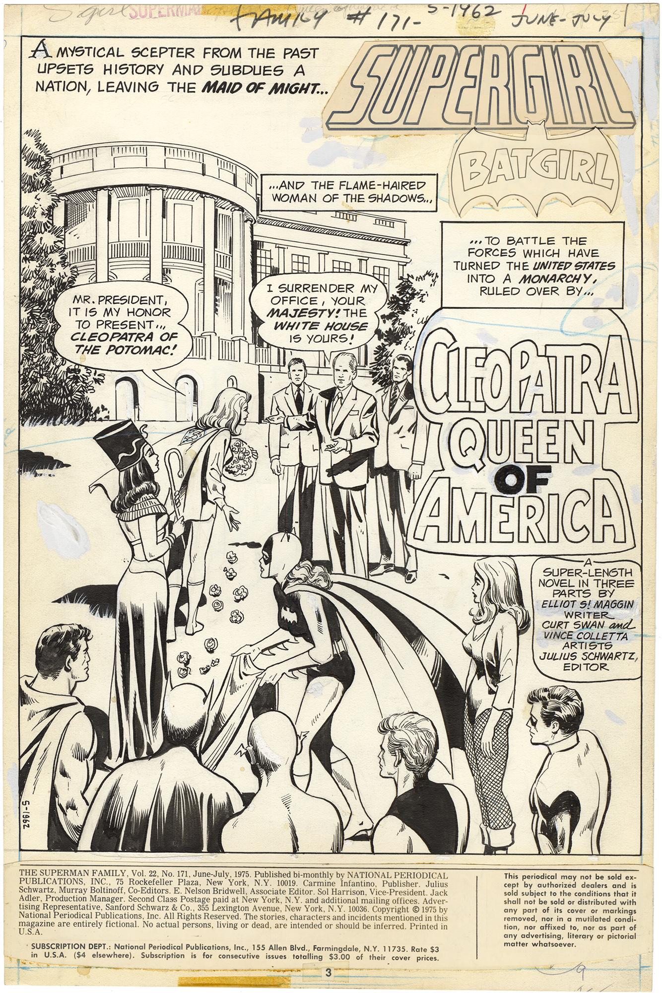 Superman Family #171 p1 Splash