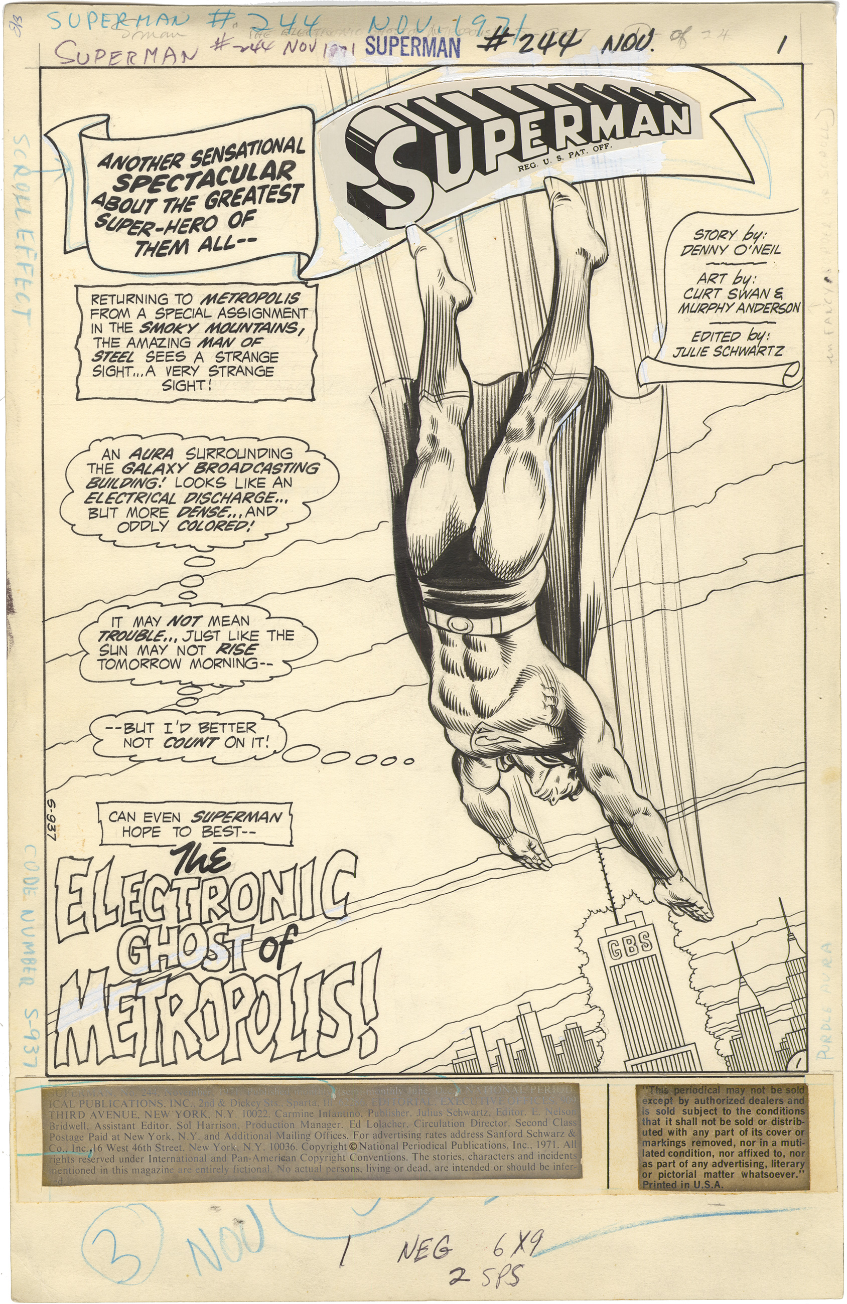Superman #244 p1