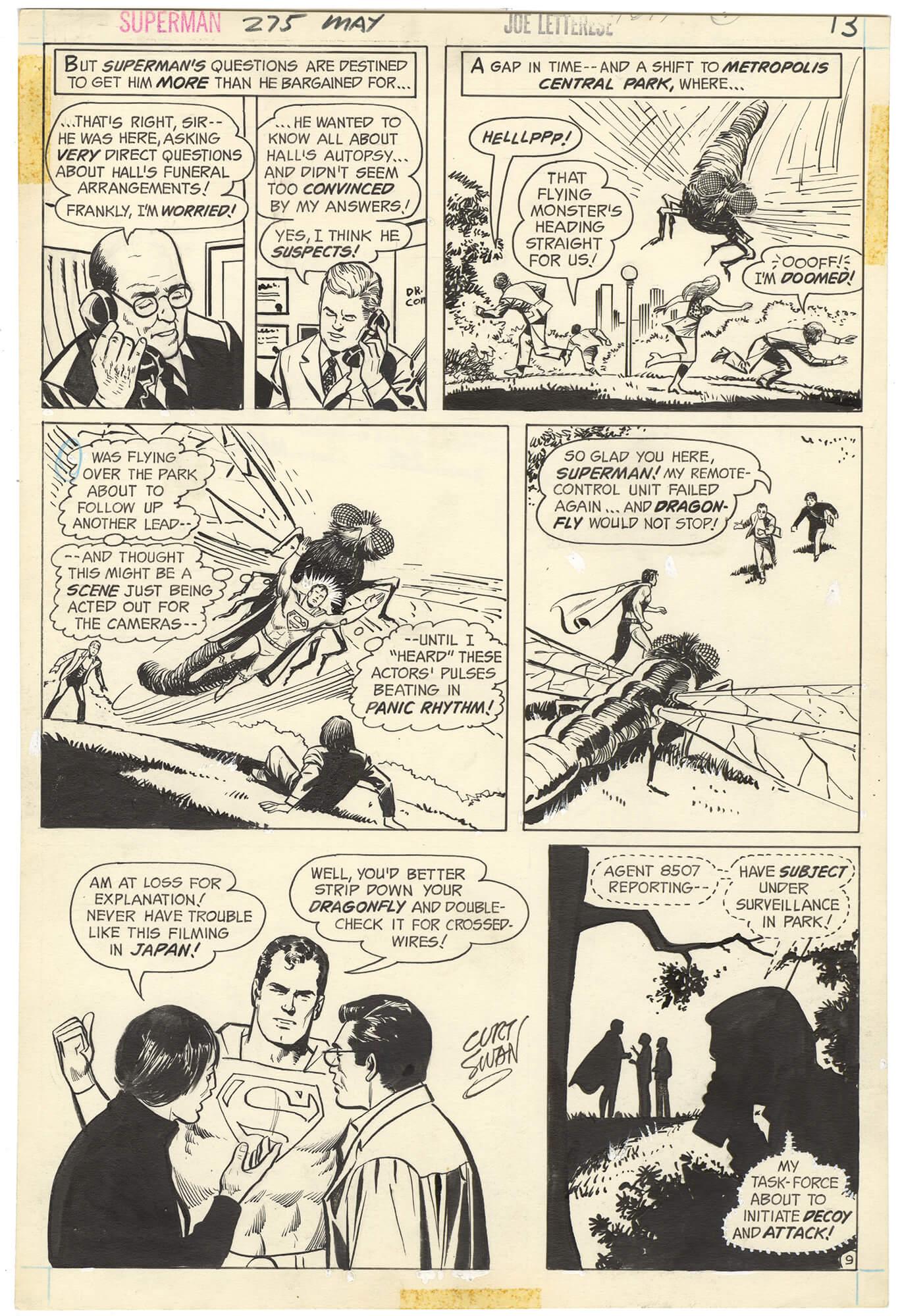 Superman #275 p9 (Signed)