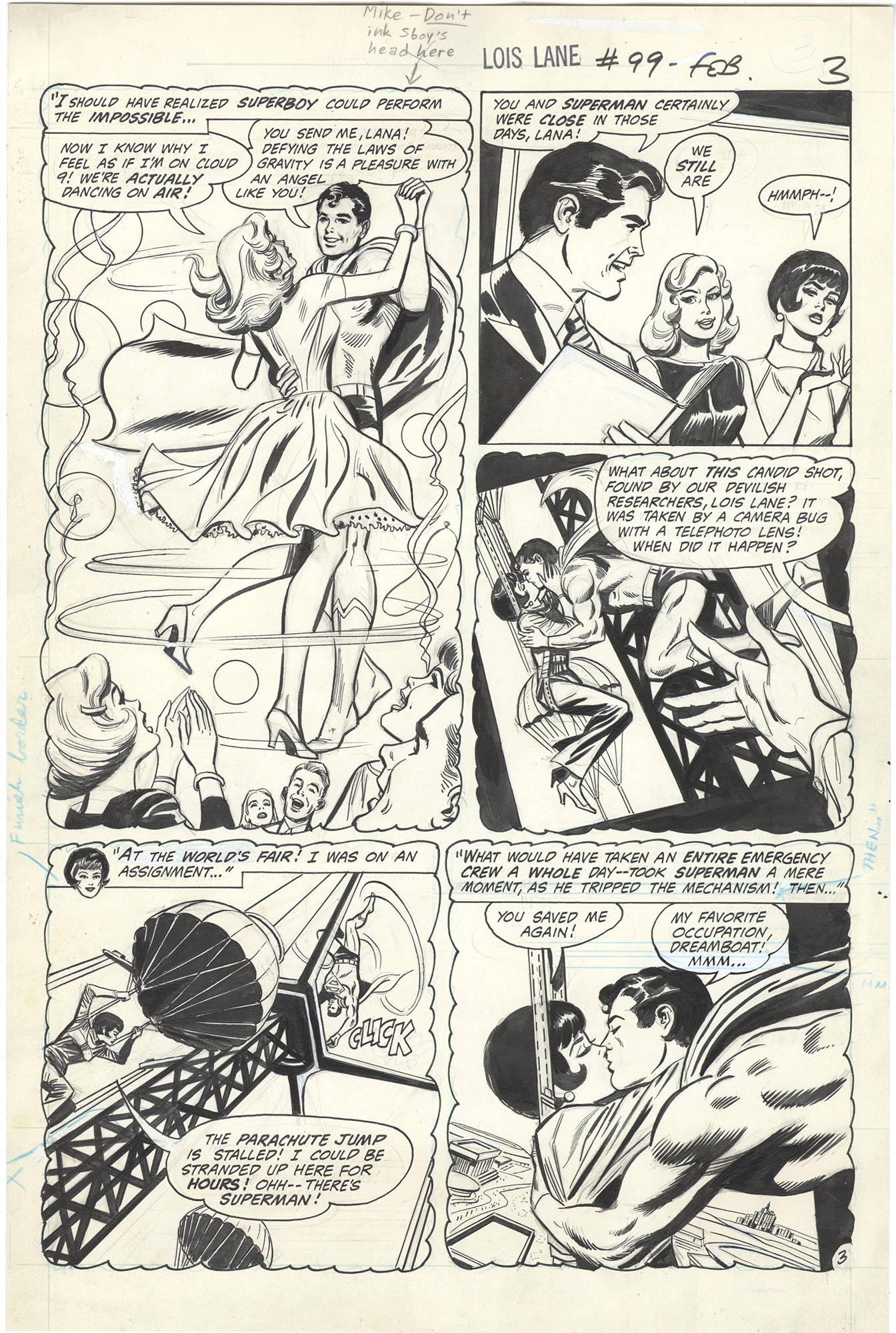 Superman's Girl Friend, Lois Lane #99 p3