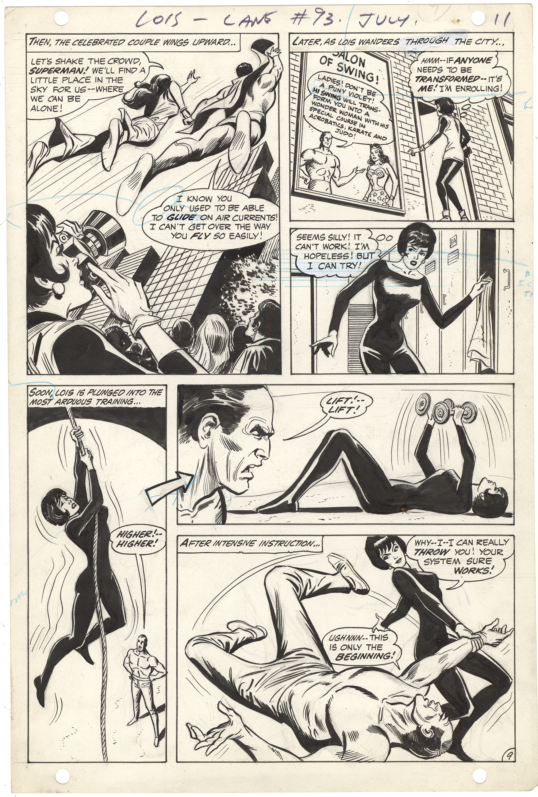 Superman's Girl Friend, Lois Lane #93 p9