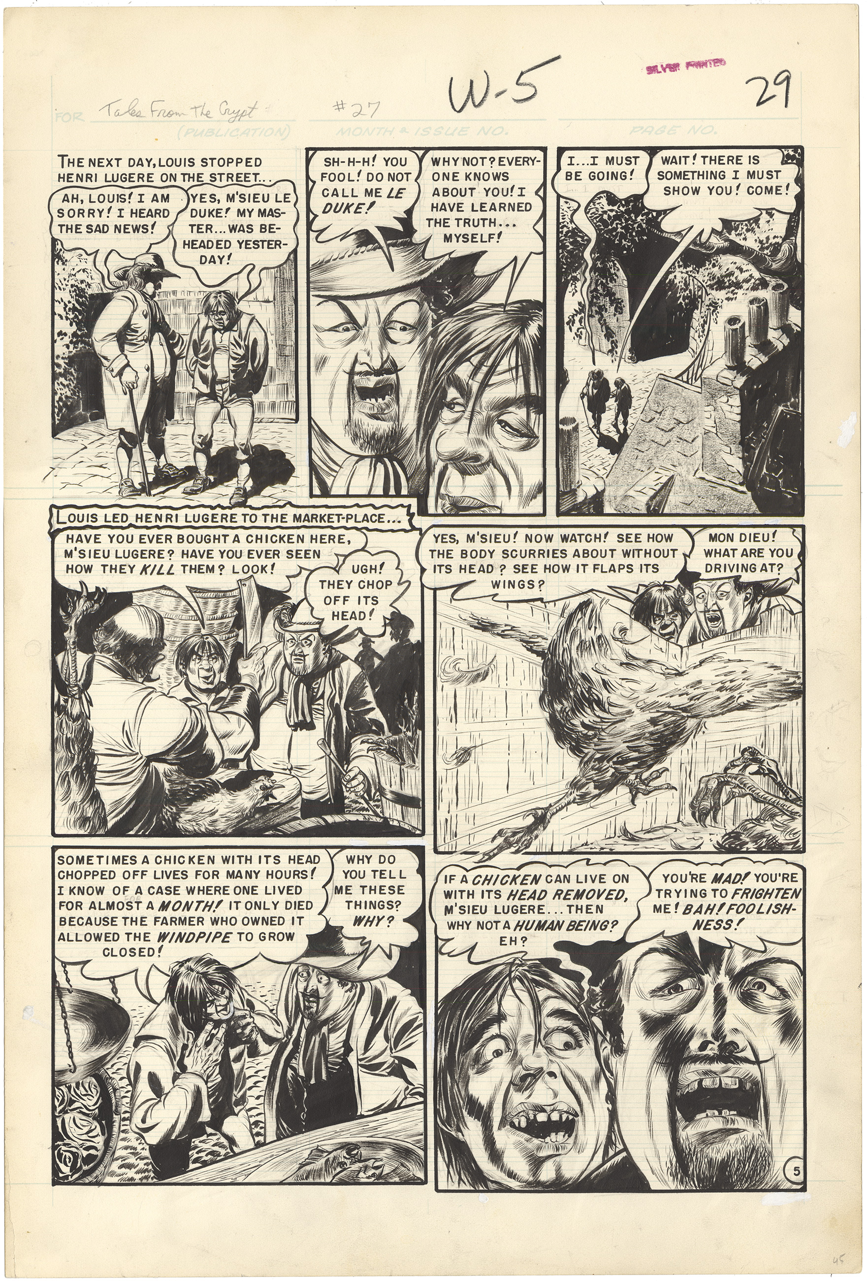 Tales From the Crypt #27 p5 (Large Art)