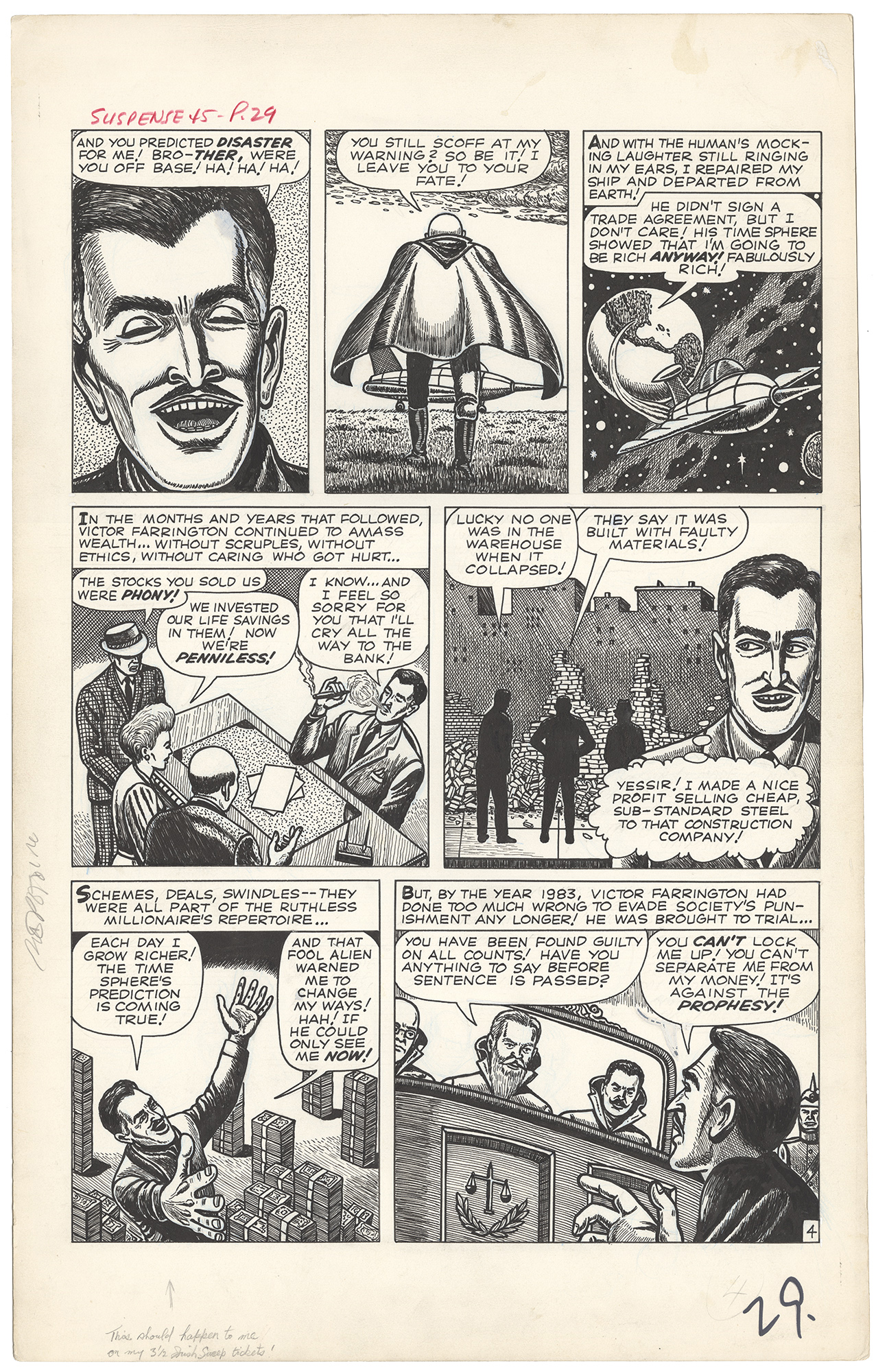 Tales of Suspense #45 p4 (Large Art)