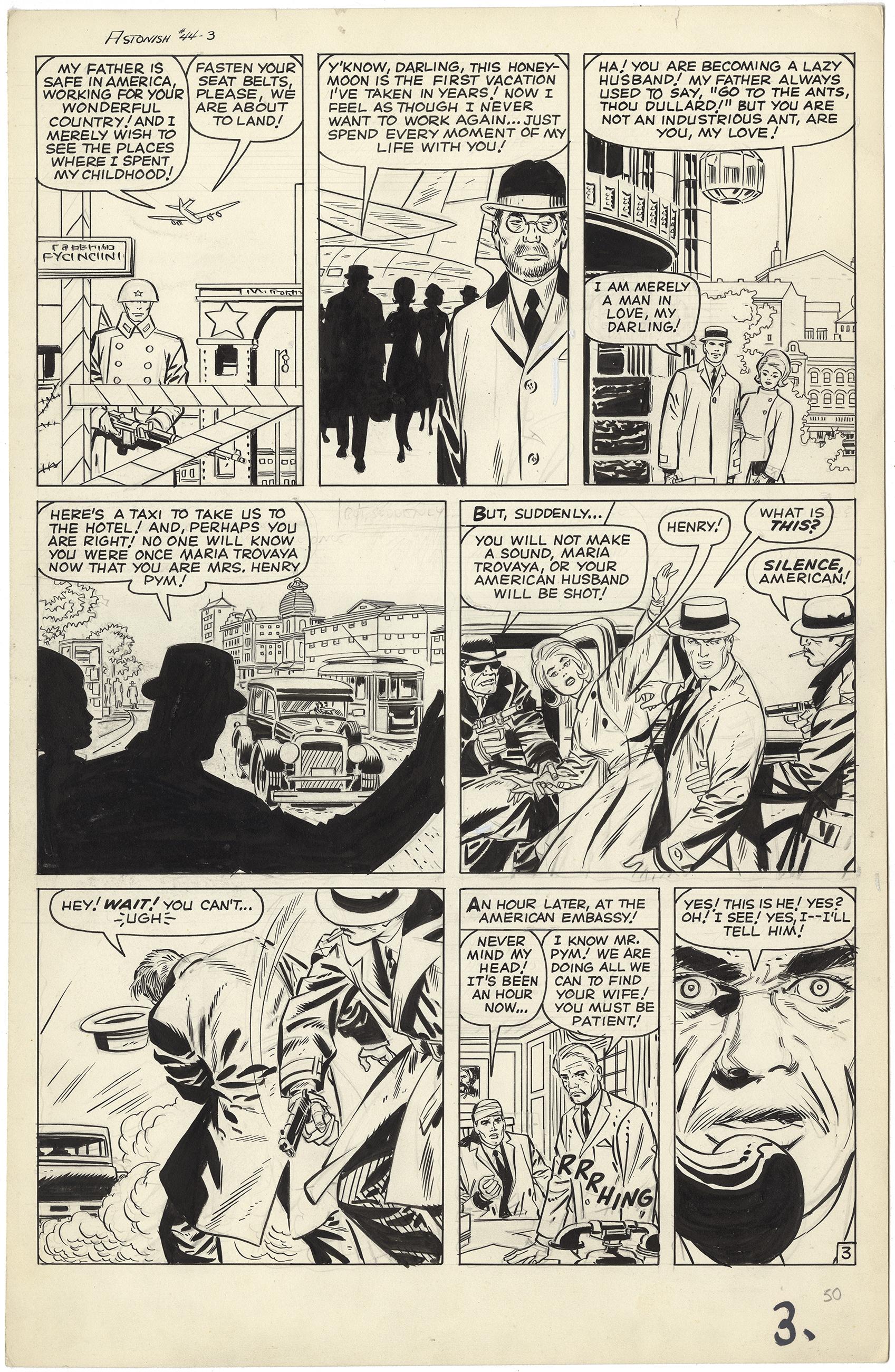 Tales to Astonish #44 p3 (Large Art)