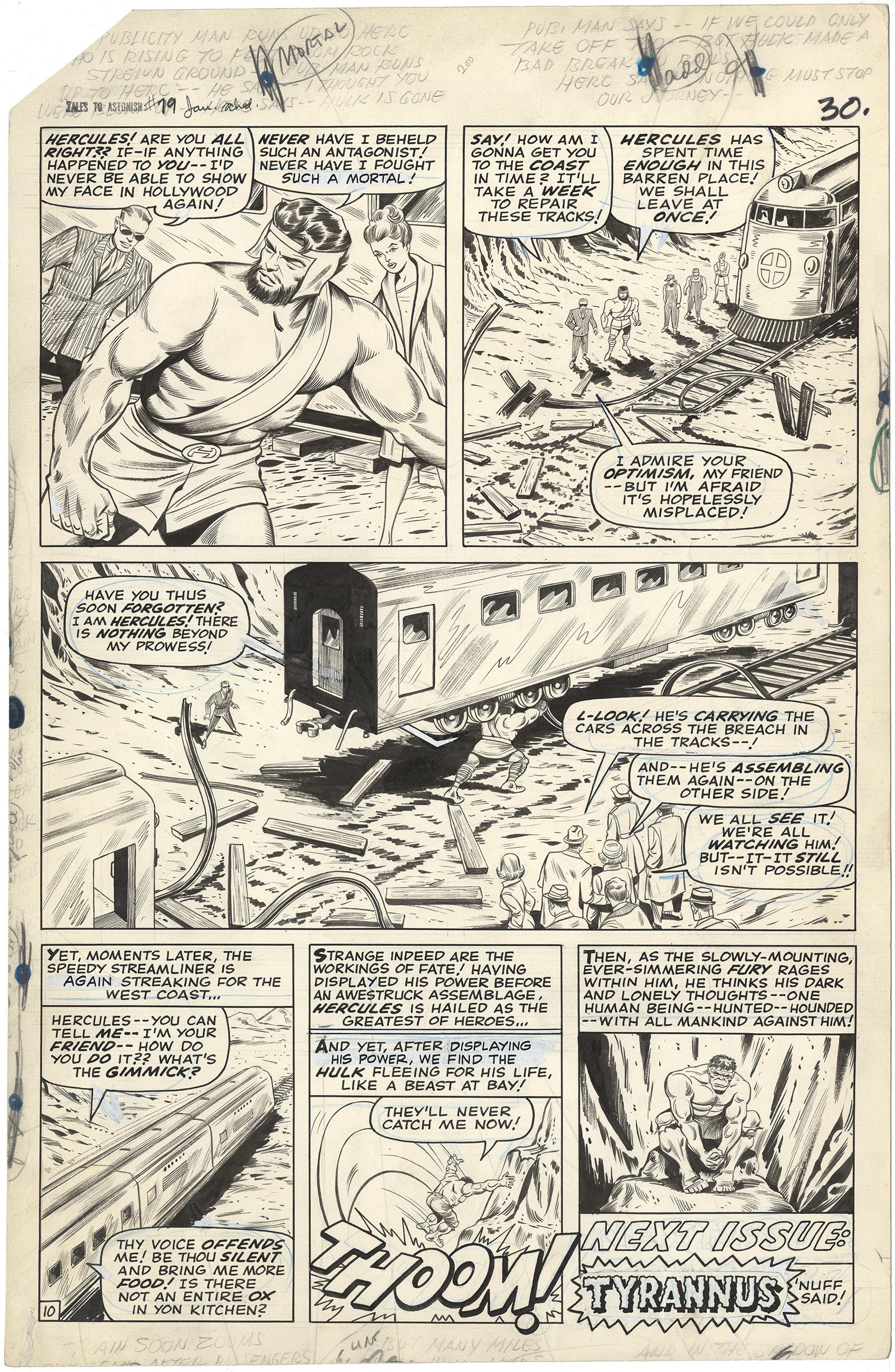 Tales to Astonish #79 p10 (Large Art)