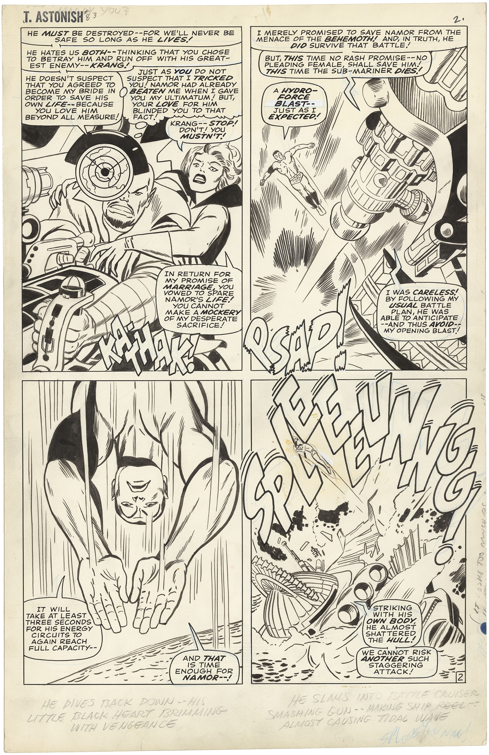 Tales to Astonish #83 p2 (Large Art)