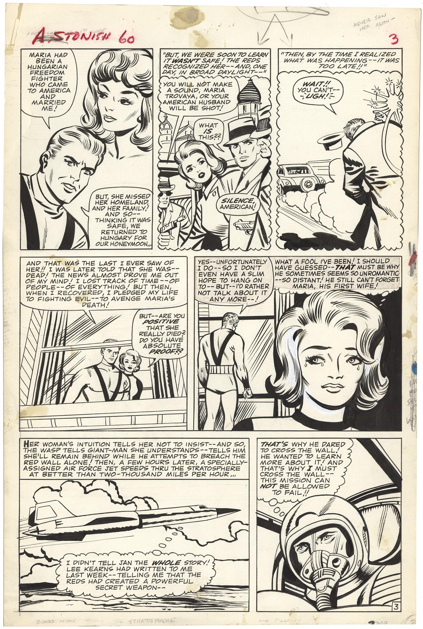 Tales to Astonish #60 p3 (Large Art)