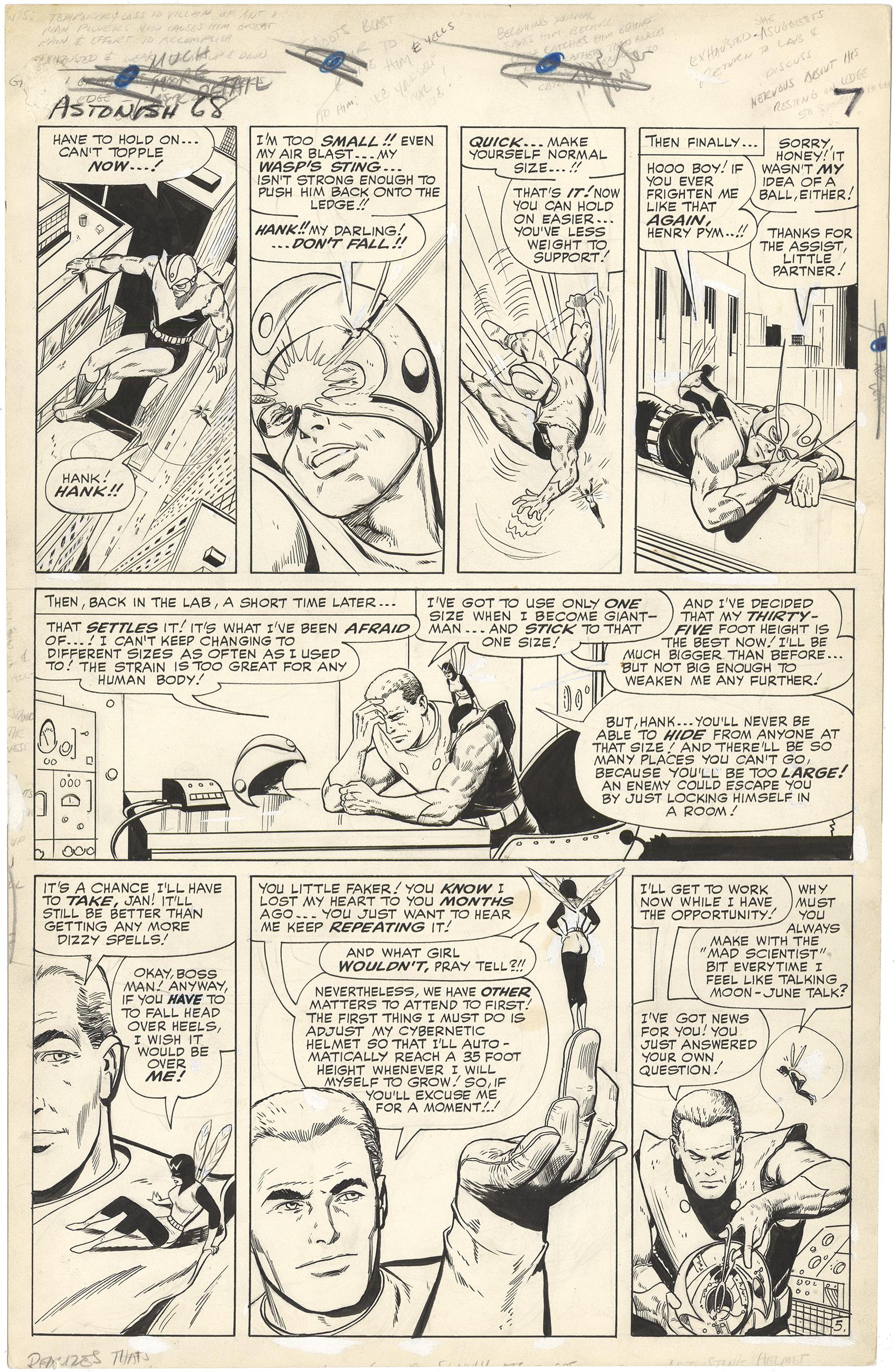 Tales to Astonish #68 p5 (Large Art)