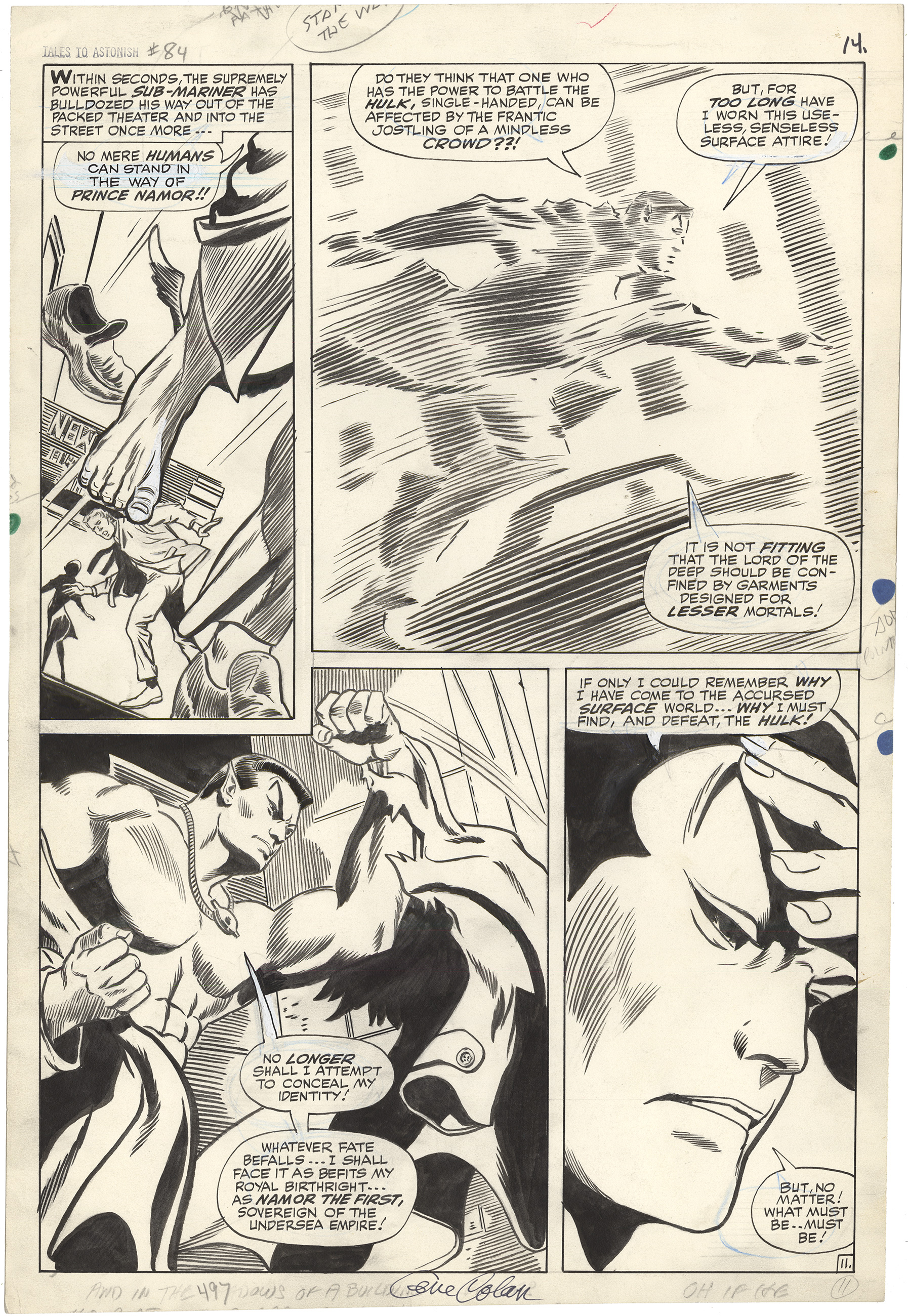 Tales to Astonish #84 p11