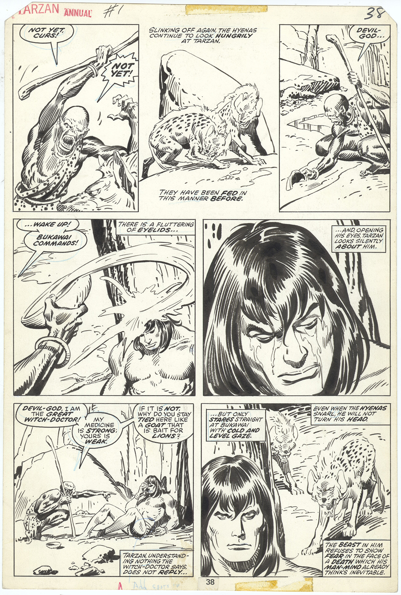 Tarzan Annual #1 p38