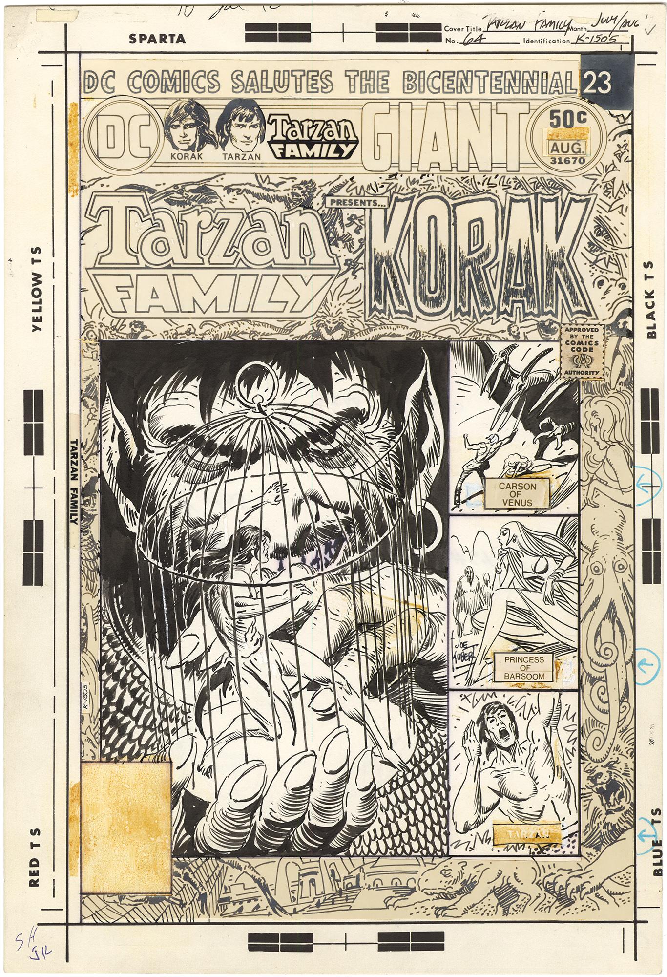 Tarzan Family #64 Cover