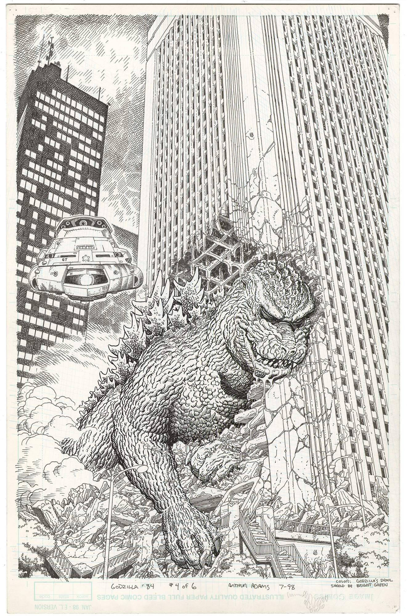 Terror of Godzilla (Dark Horse Classics) #4 Cover