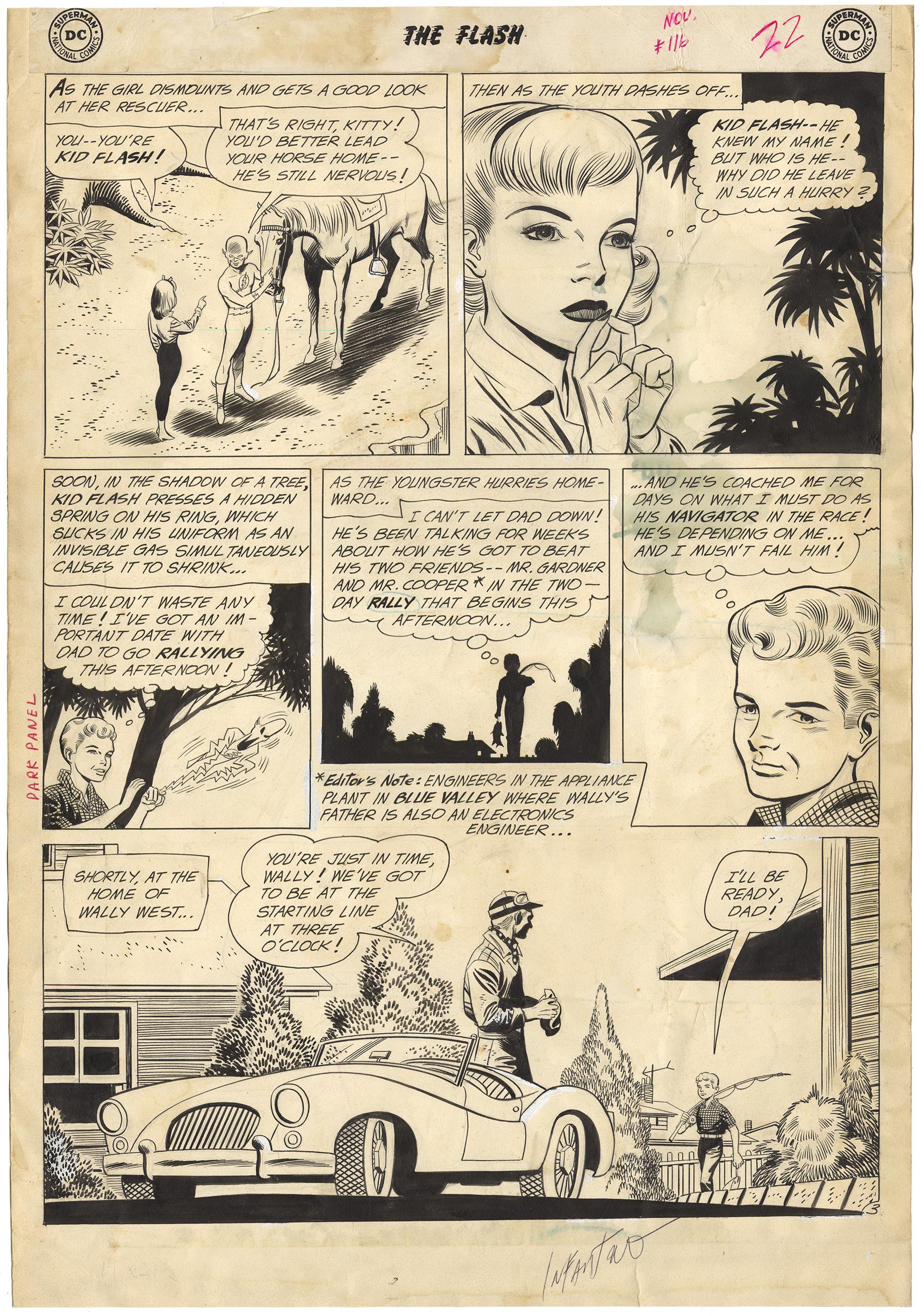 Flash #116 p3 (Signed, Large Art)