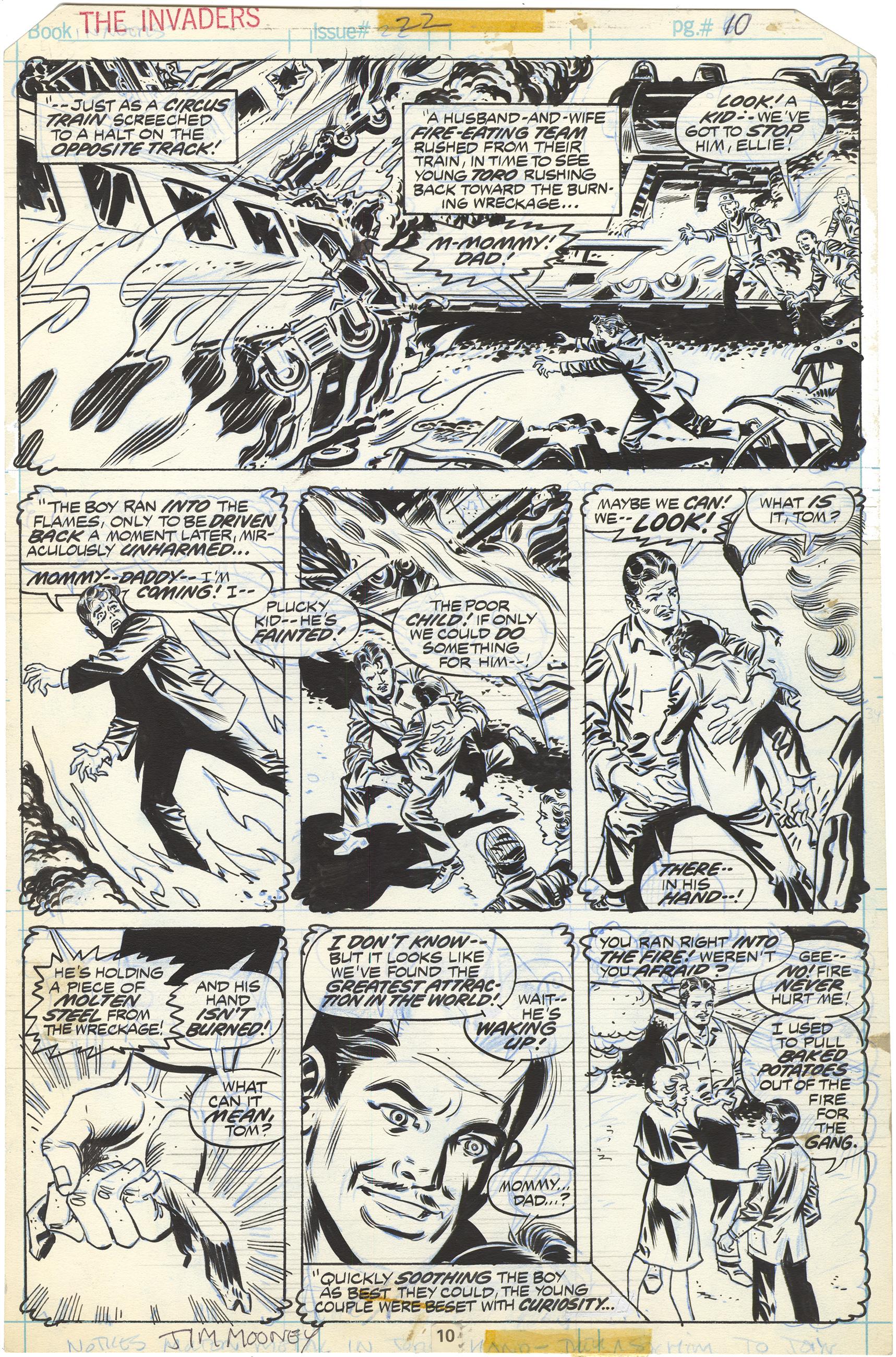 Invaders #22 p10 (Origin Toro)