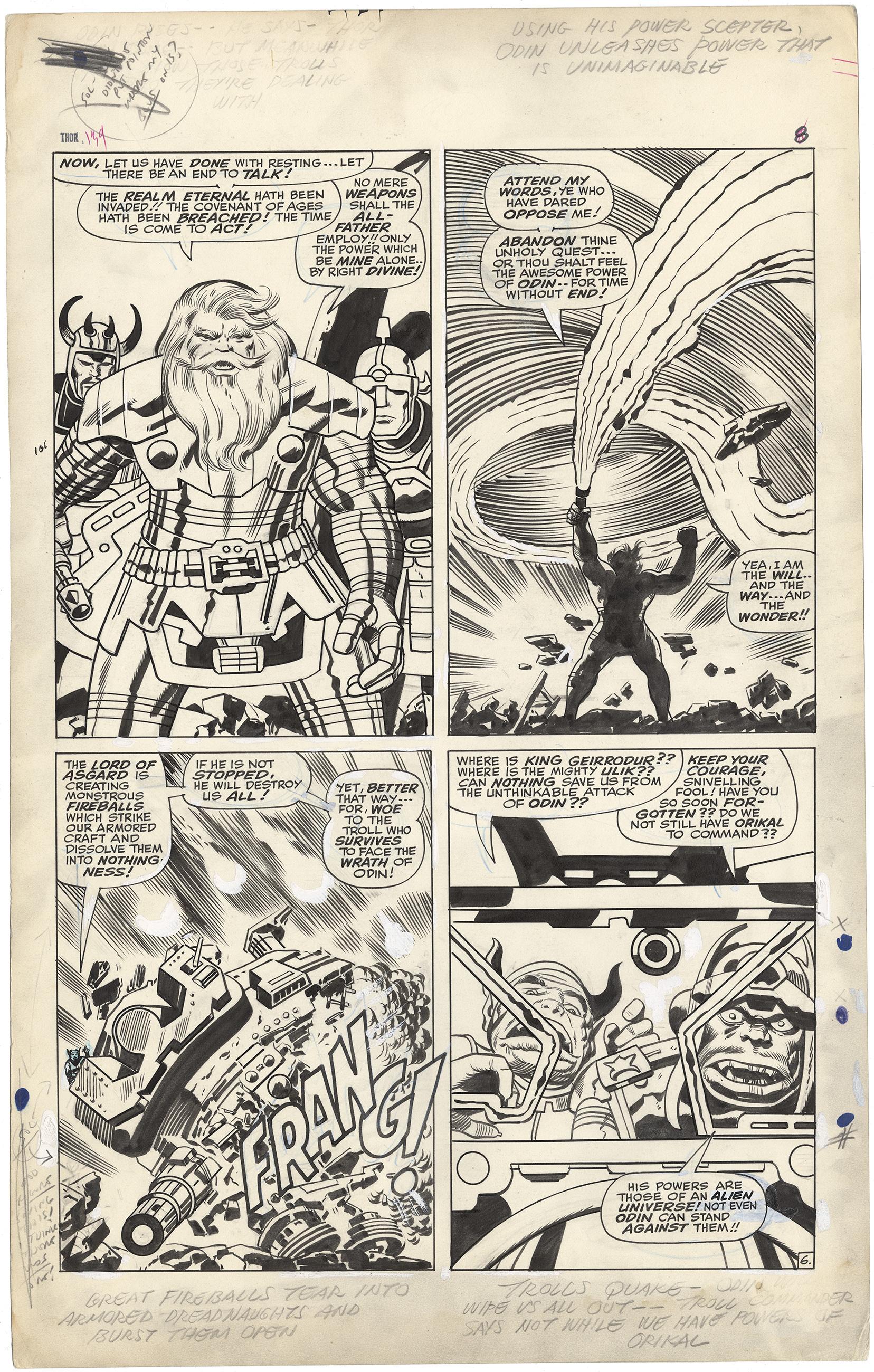 Thor #139 p6  (Large Art)
