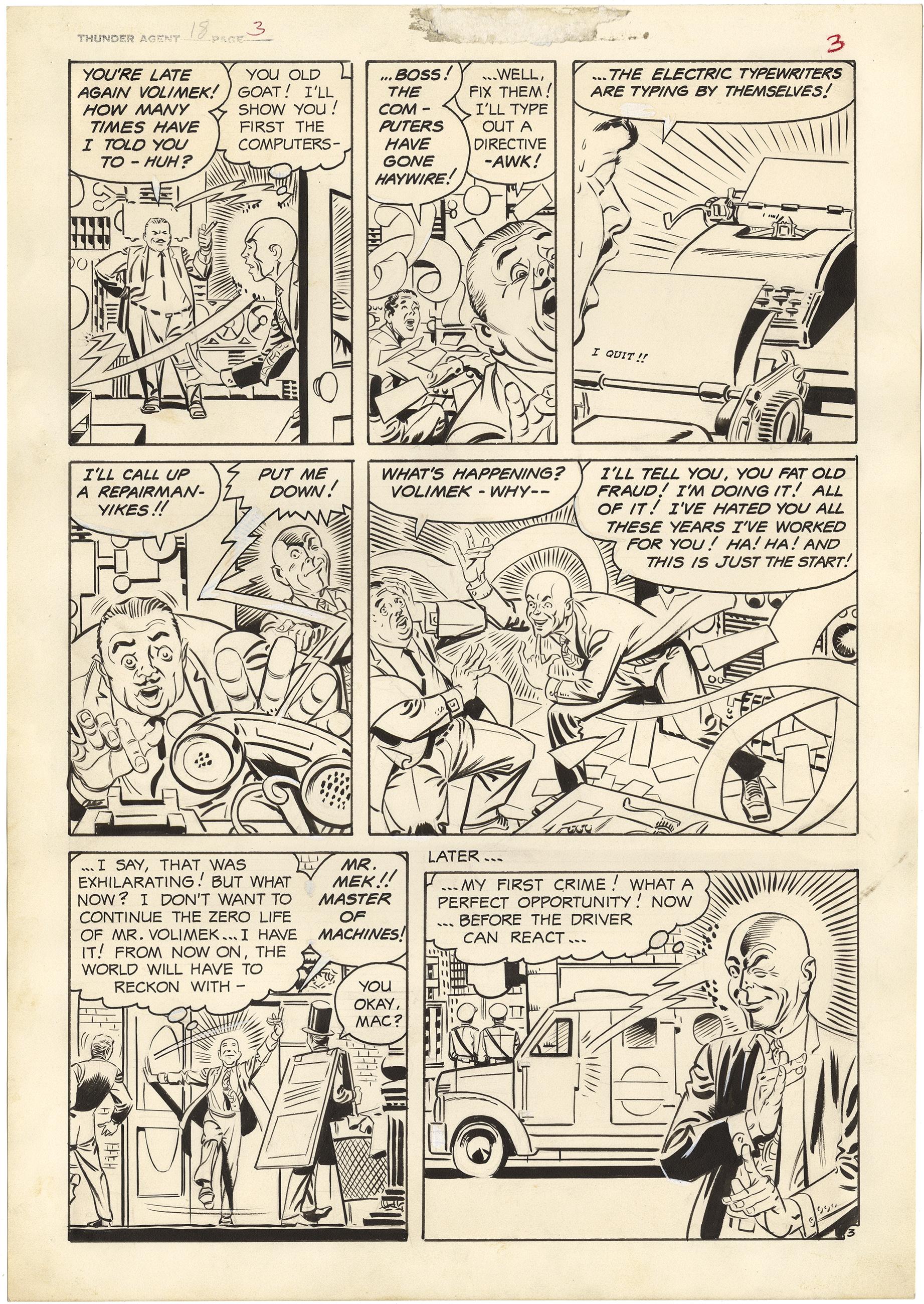 T.H.U.N.D.E.R. Agents #18 p3 (Large Art)