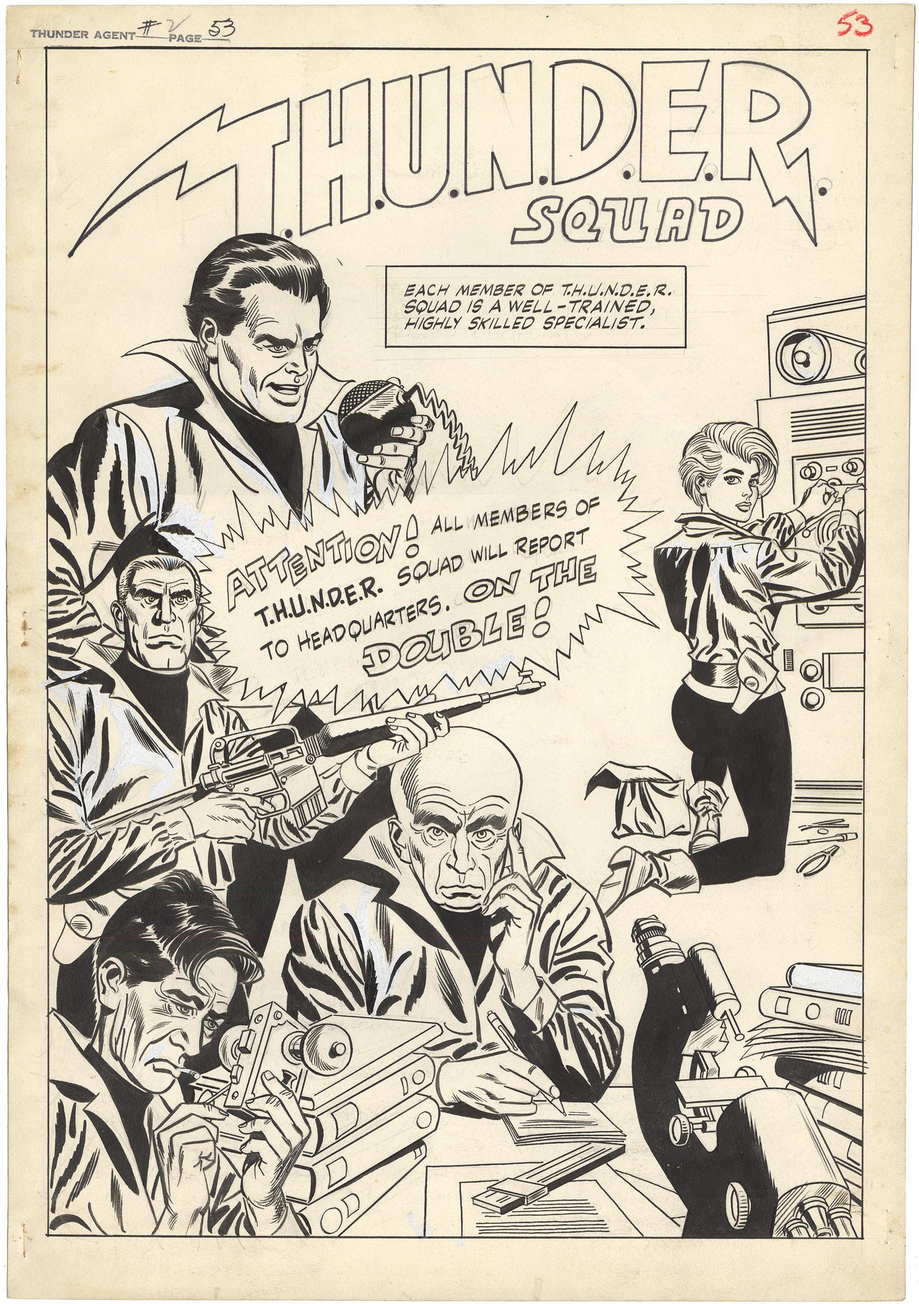 THUNDER Agents #2 p53 (Large Art)