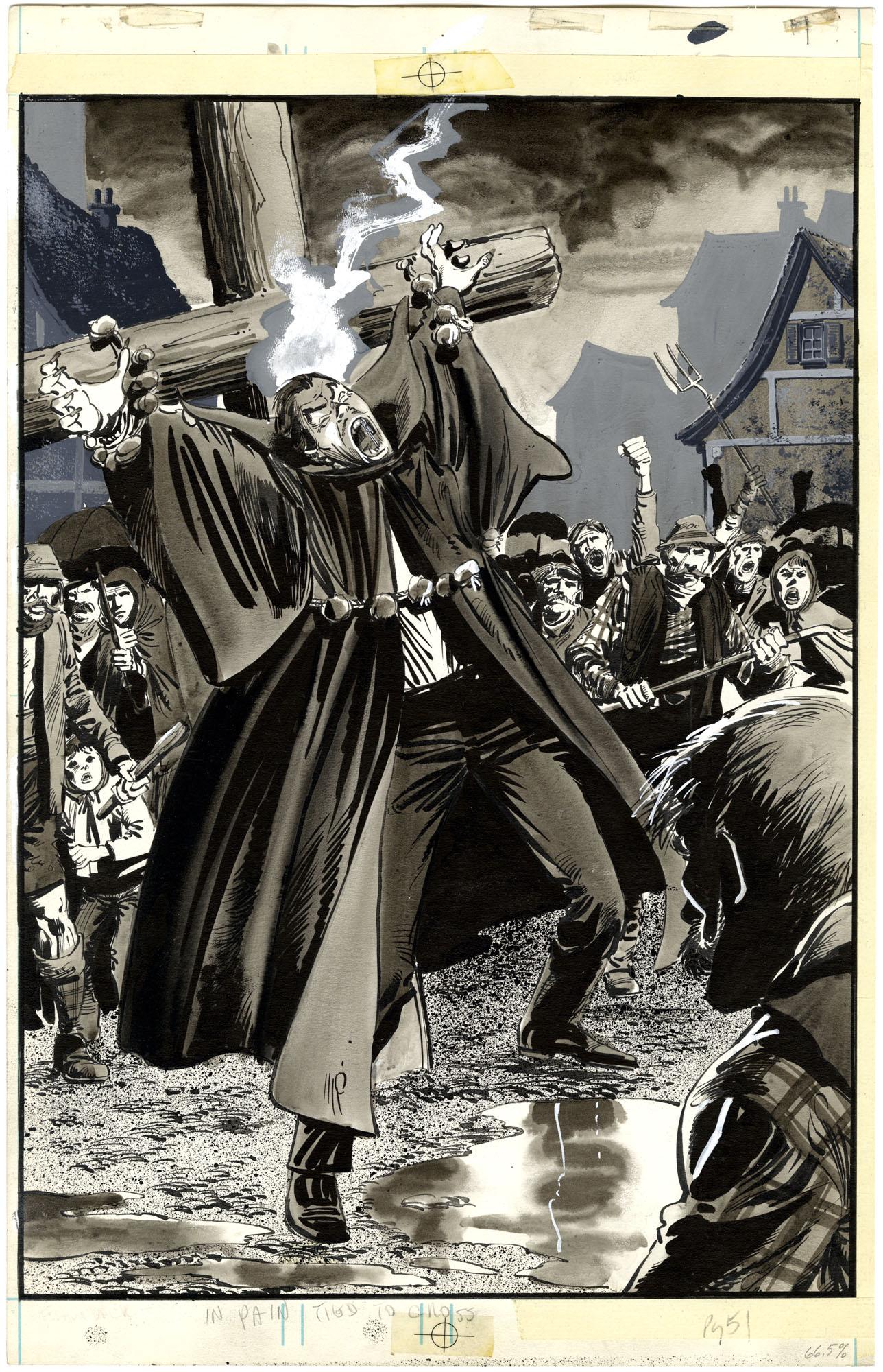 Tomb of Dracula #4 p51 (Splash)