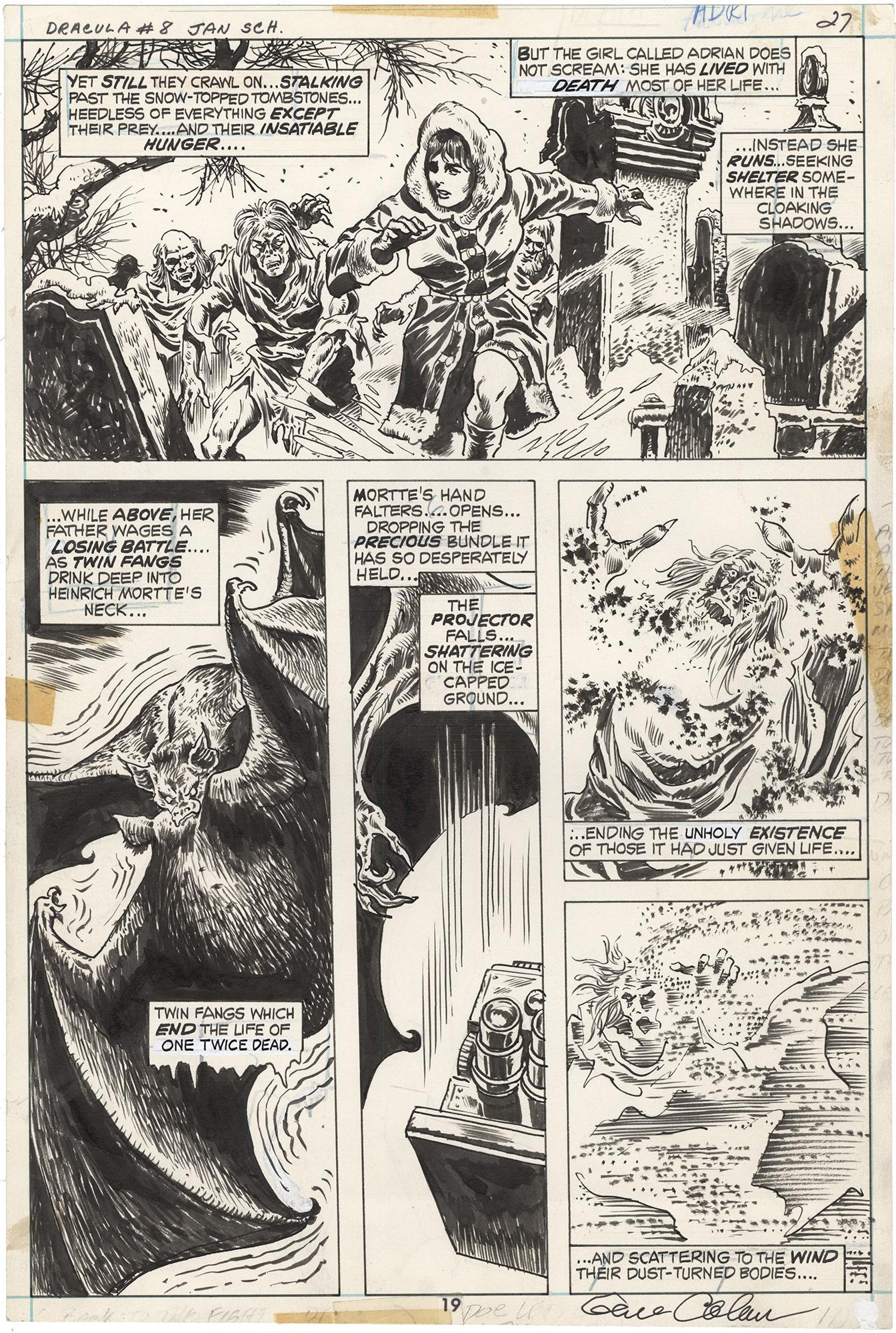 Tomb of Dracula #8 p19