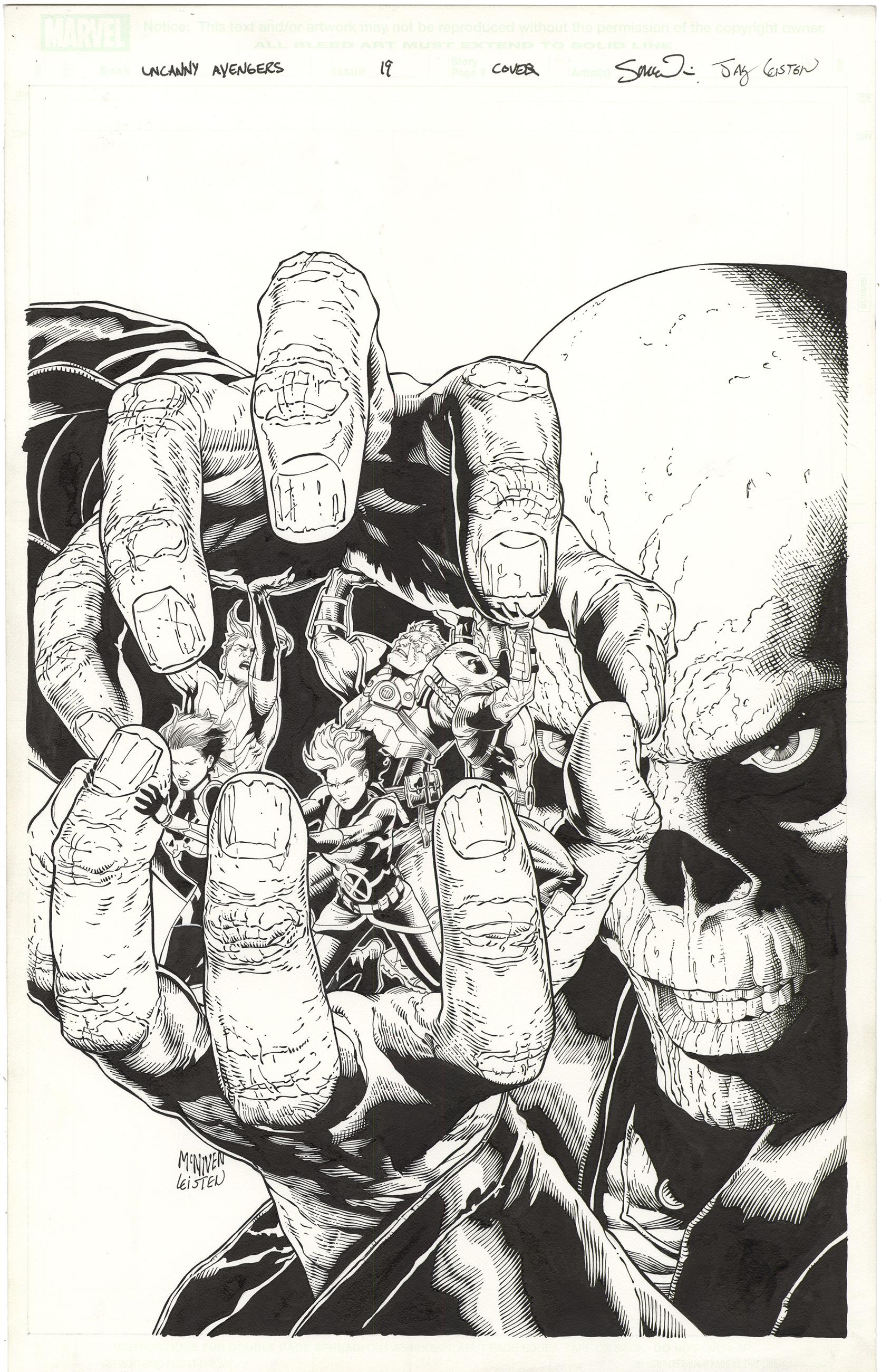 Uncanny Avengers #19 Cover