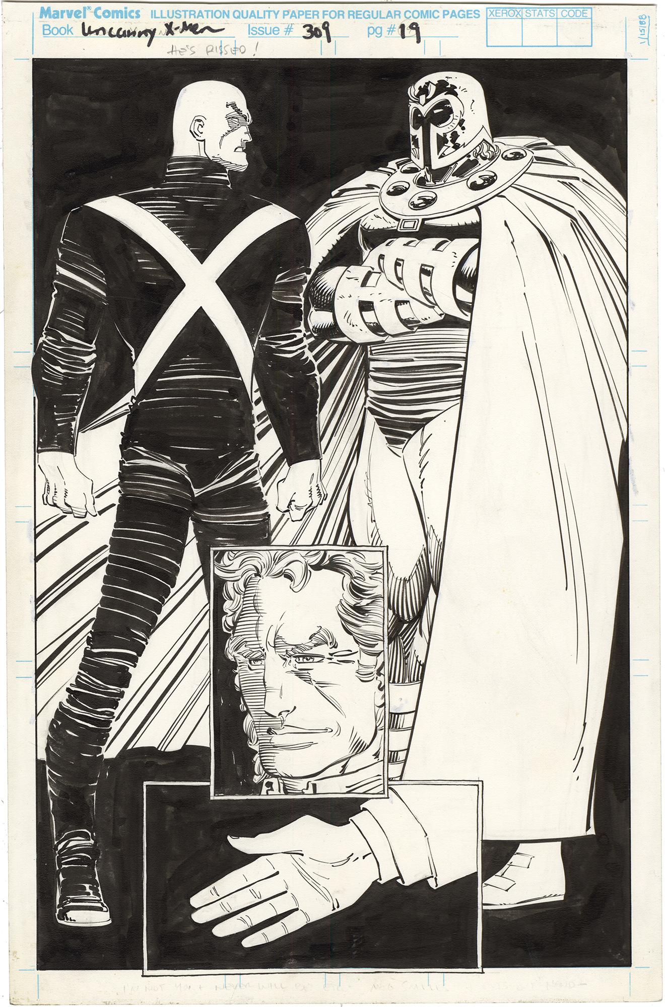 Uncanny X-Men #309 p19