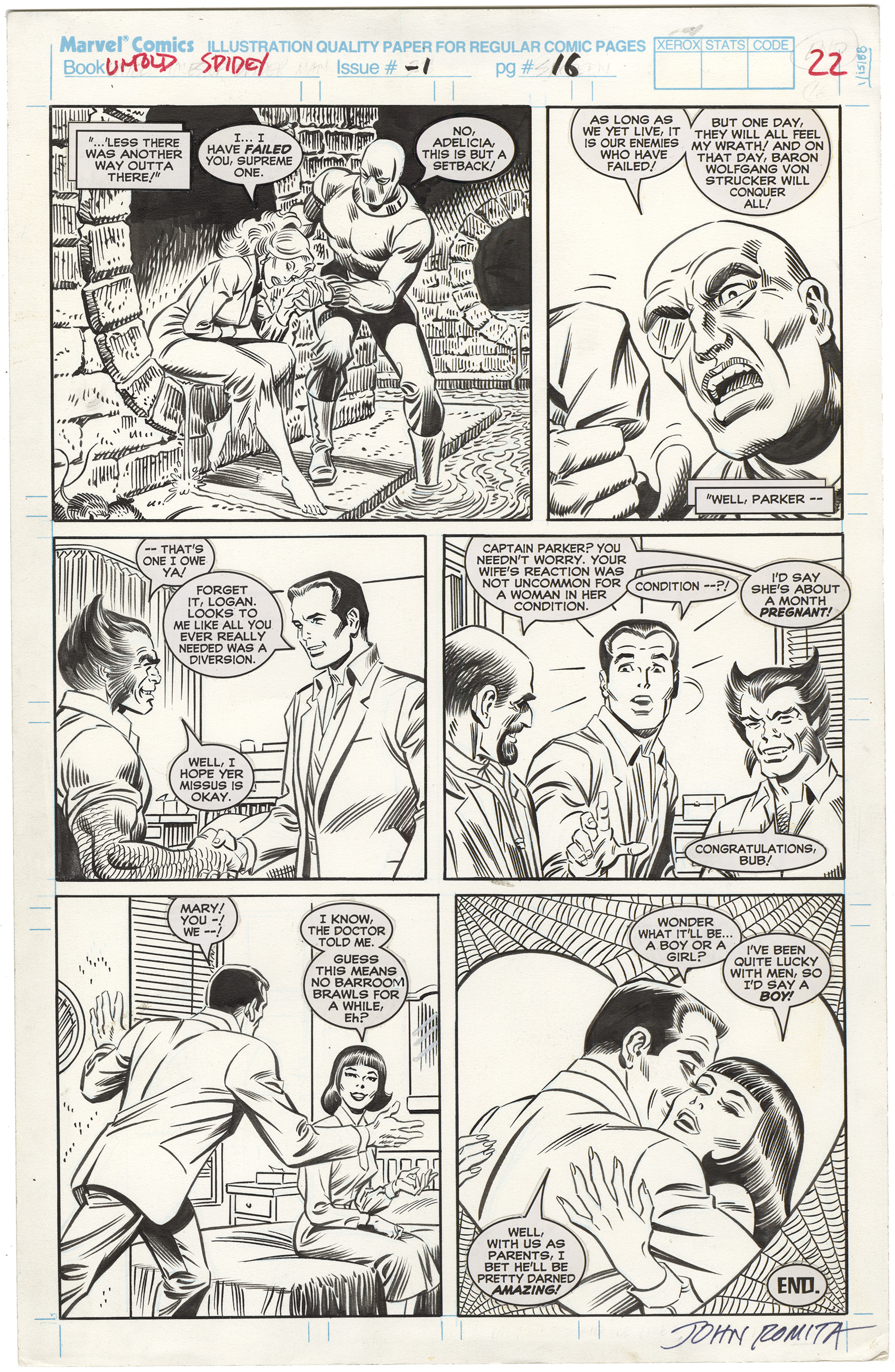 Untold Tales of Spider-Man #1 p16