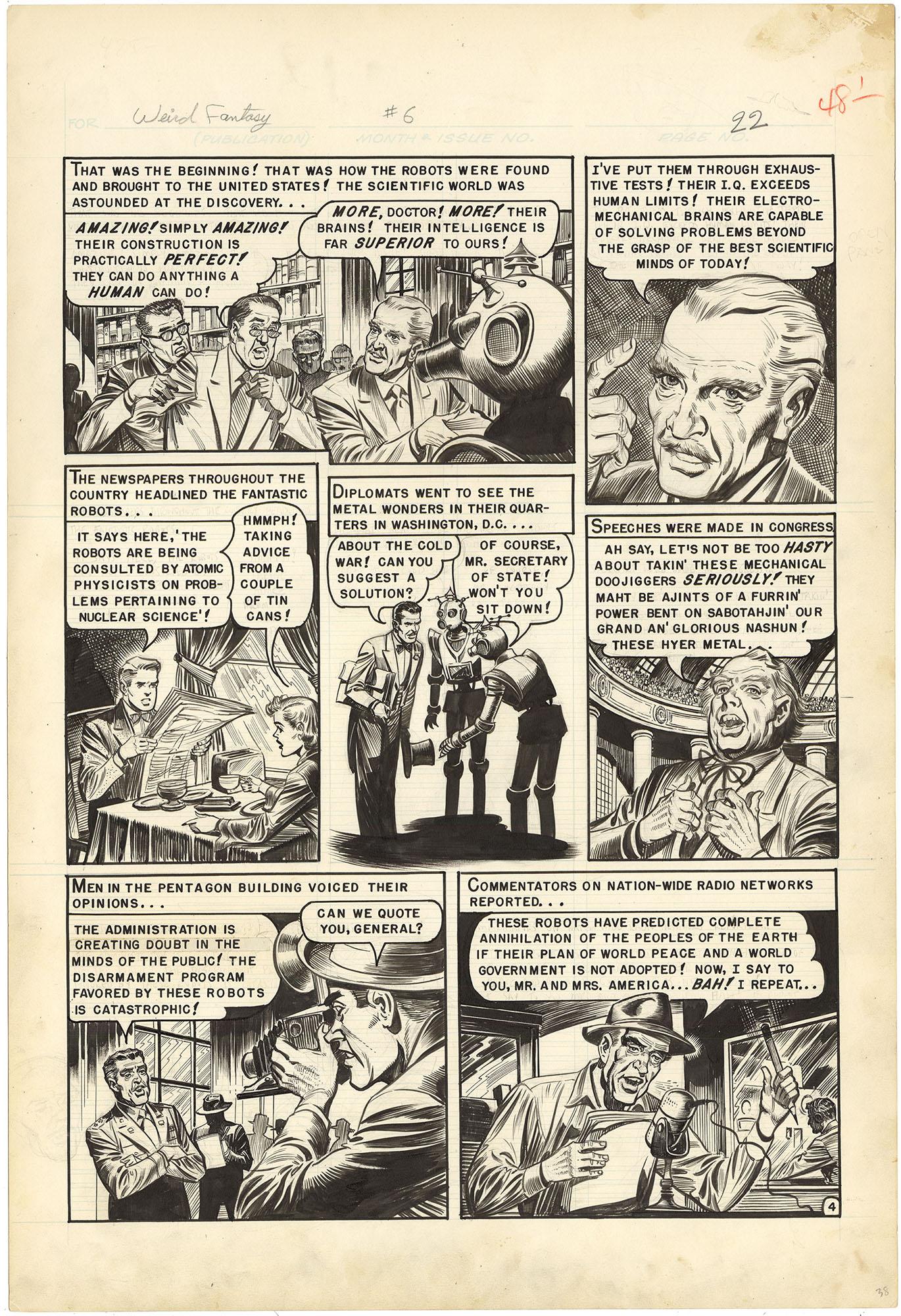 Weird Fantasy #6 p4 (Large Art)