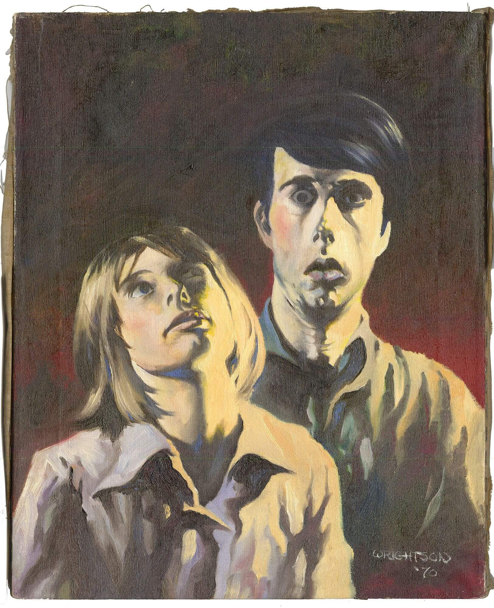 Wrightson Portrait of Jeffrey and Louise Jones  (Later Louise Simonson)