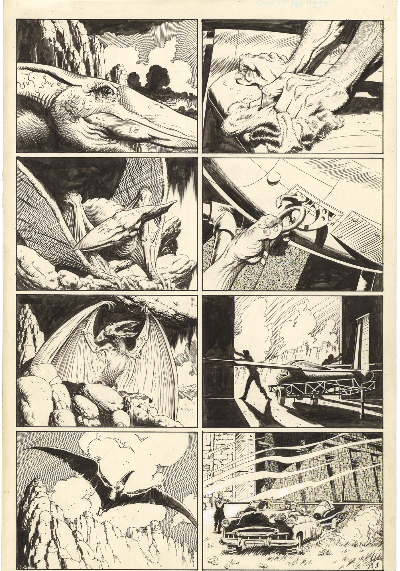 Xenozoic Tales #6 p1