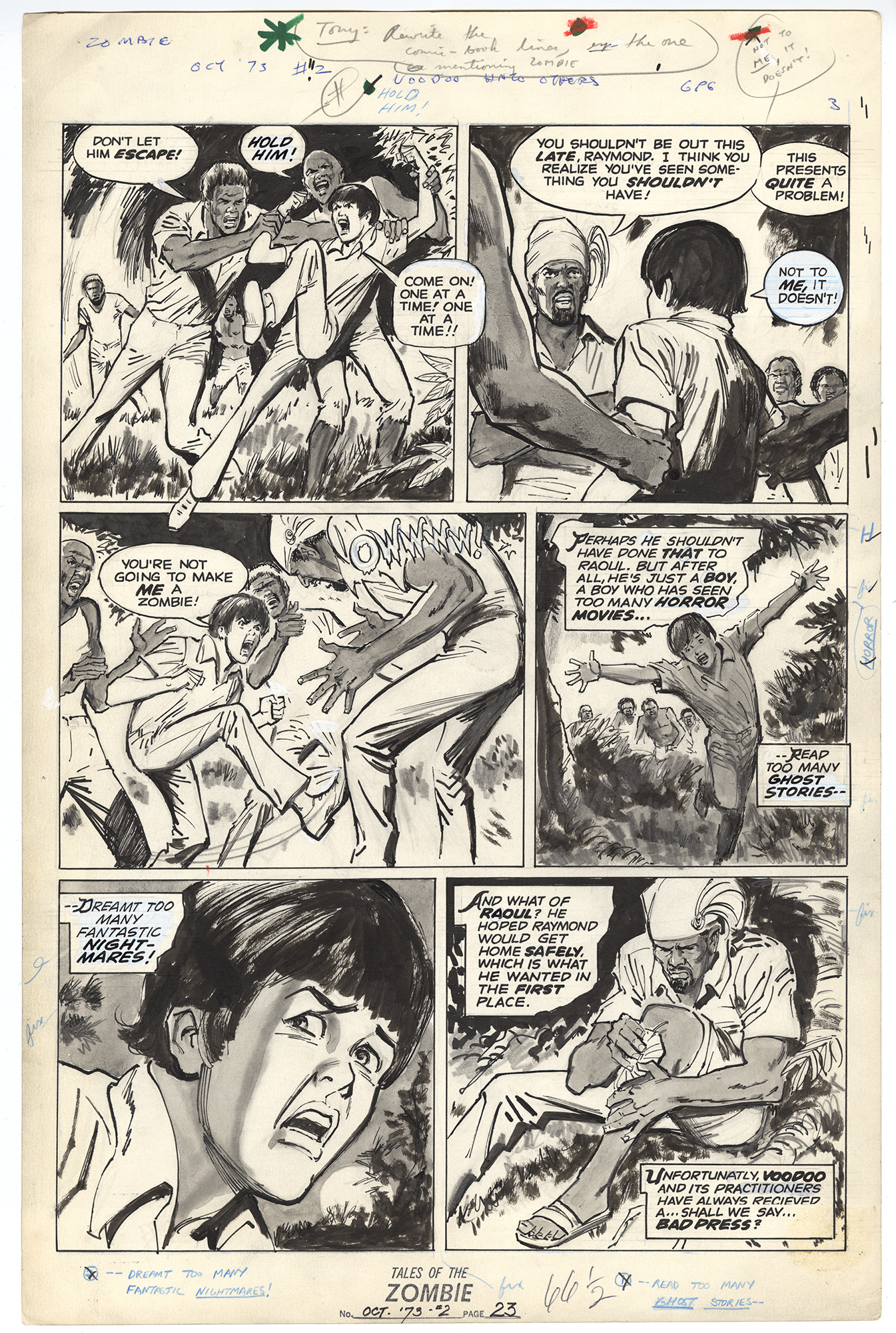 Tales of the Zombie #2 p23