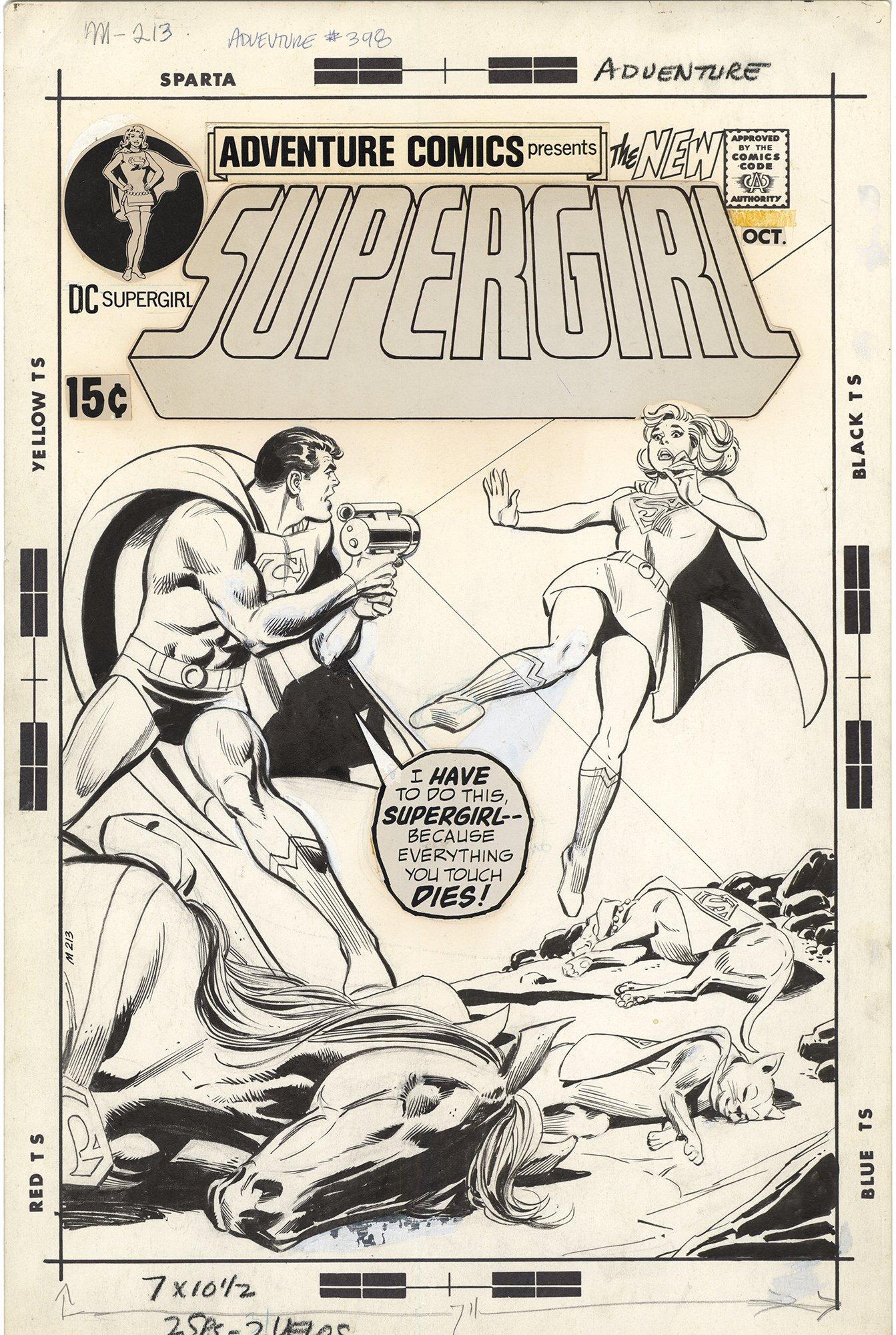 Adventure Comics #398 Cover