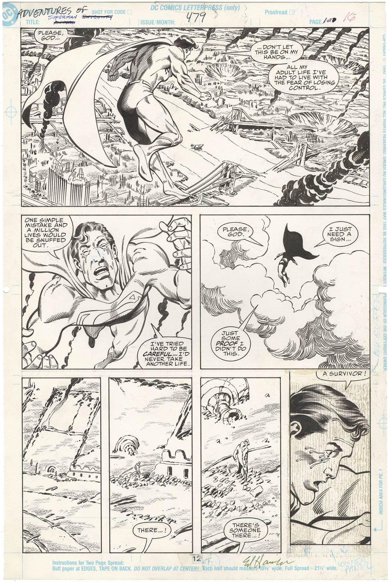 Adventures of Superman #479 p12