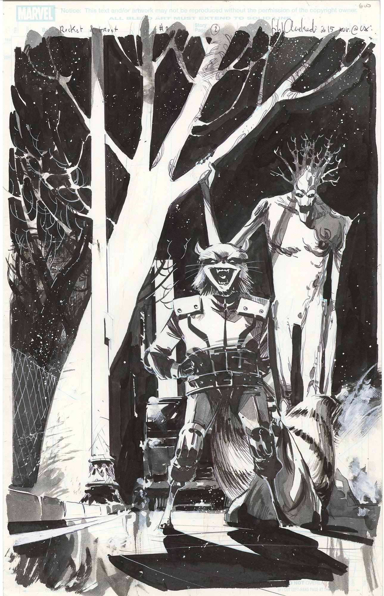 All-New All Marvel Point One #0 p2 (Rocket & Groot)