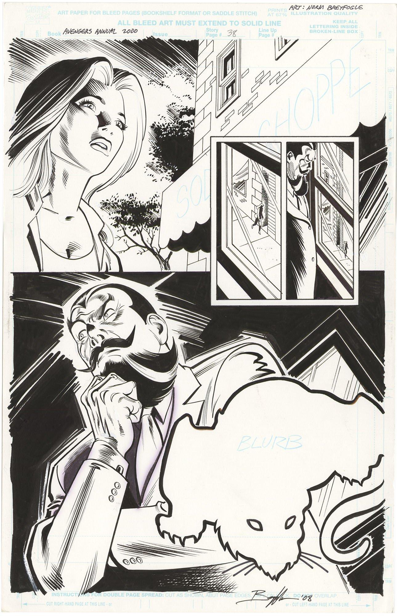 Avengers 2000 Annual #1 p38 (Half Splash)