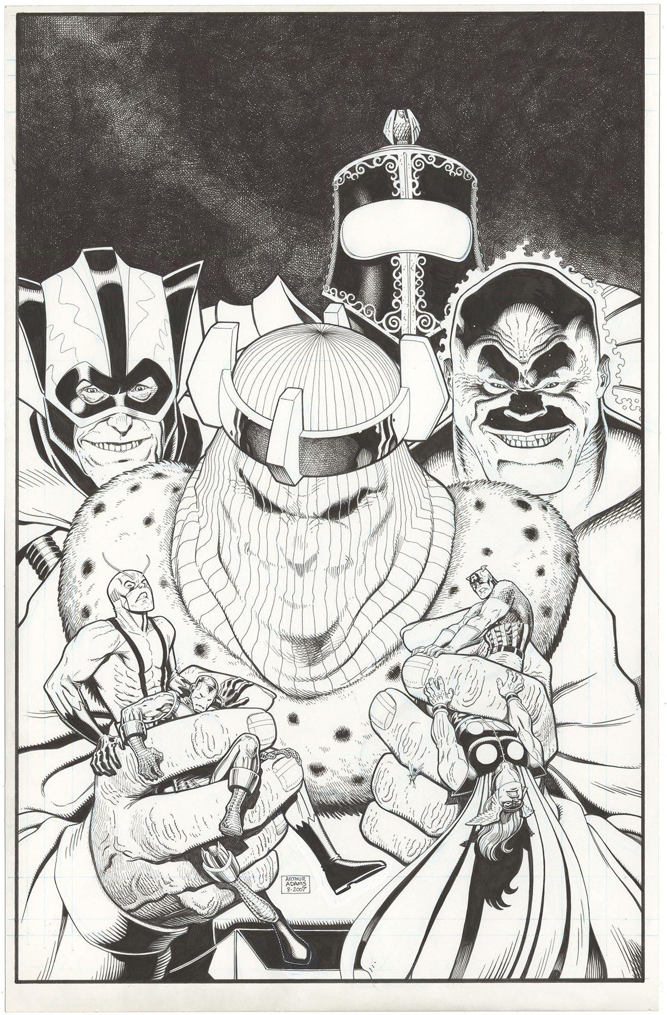 Avengers Classic #6 Cover (Large Art)