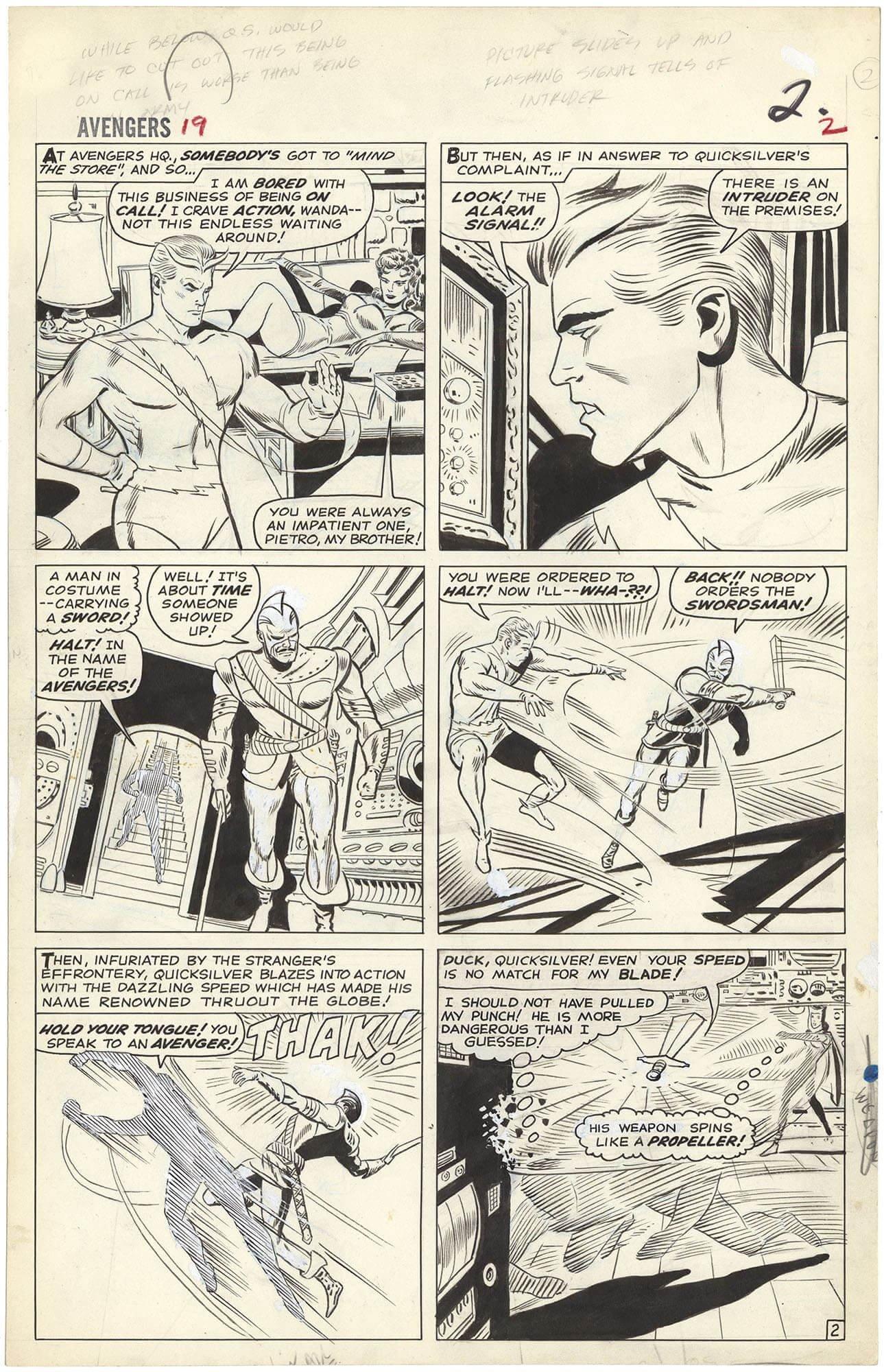 Avengers #19 p2 (First Swordsman)