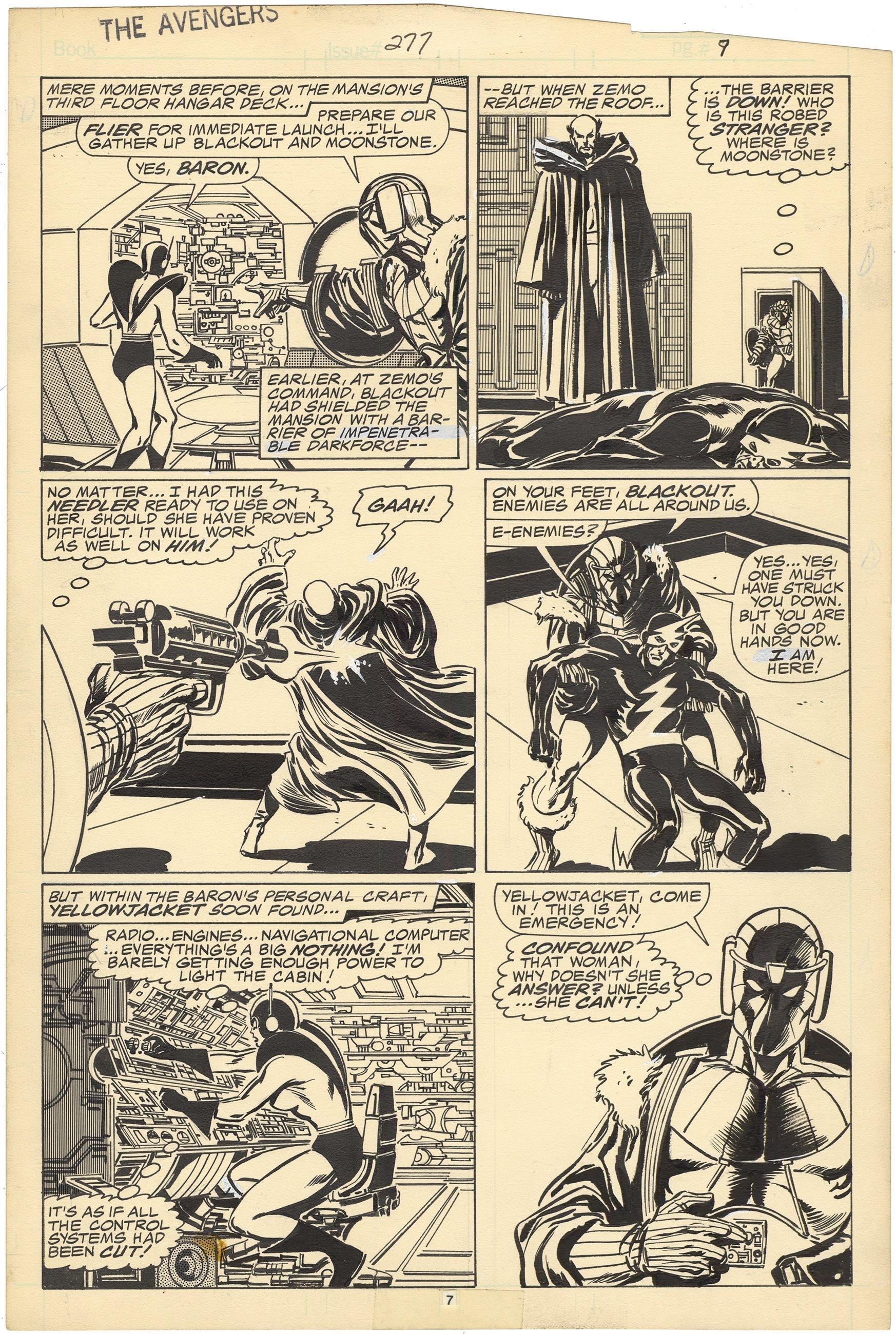 Avengers #277 p7