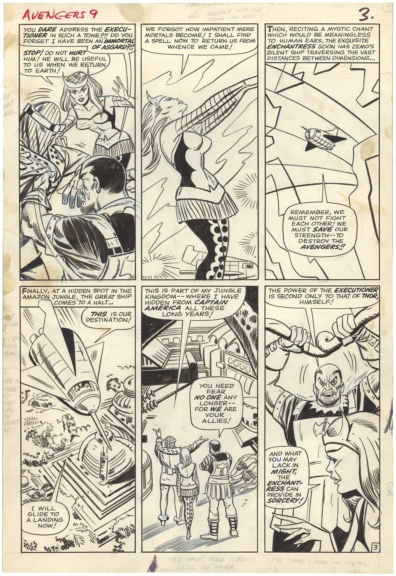 Avengers #9 p3 (Large Art)