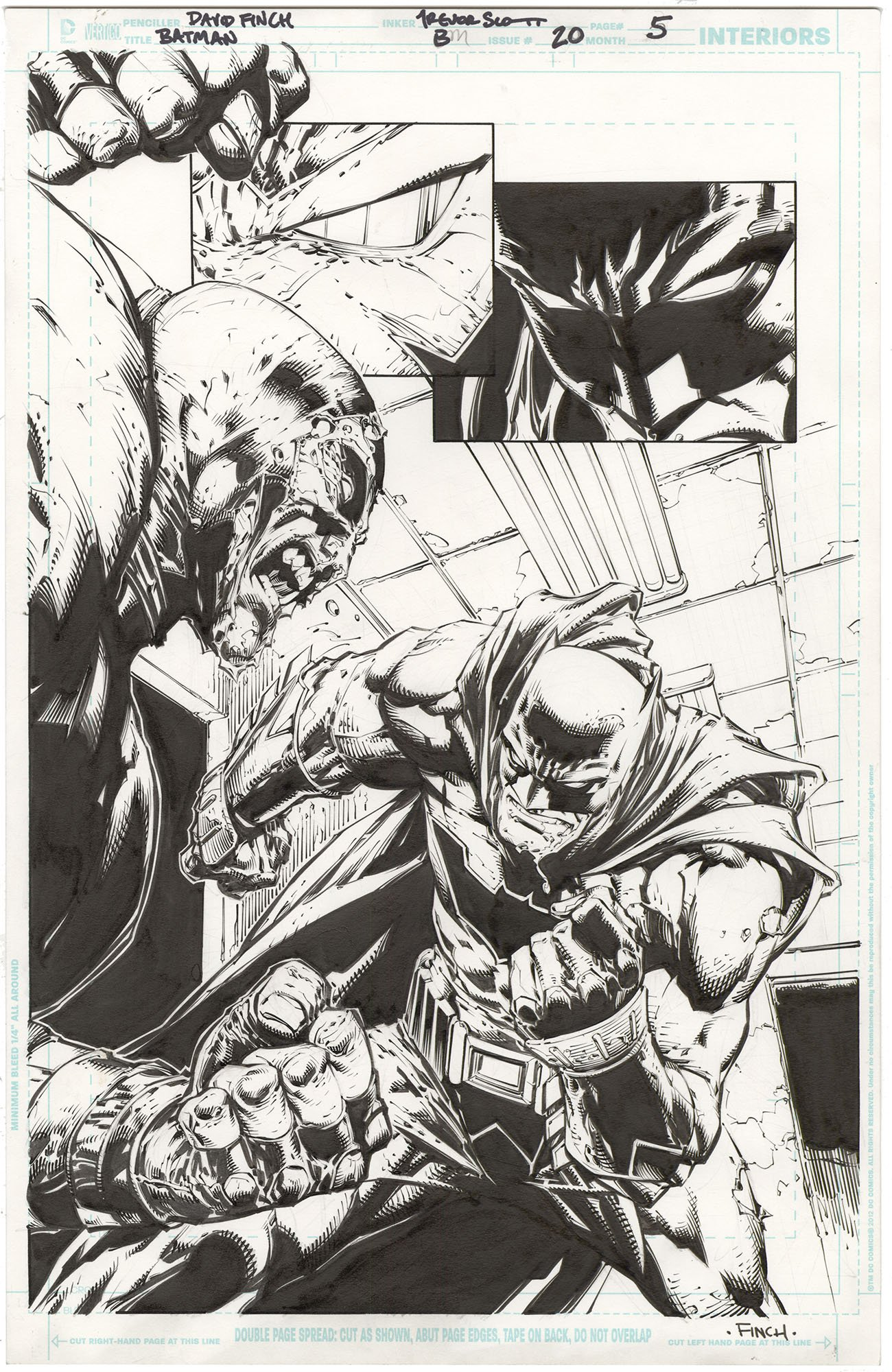 Batman #20 p5 (Splash)