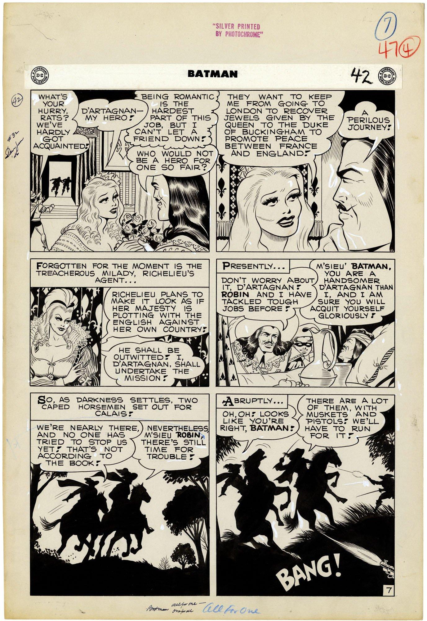 Batman #32 p7 (large Art)