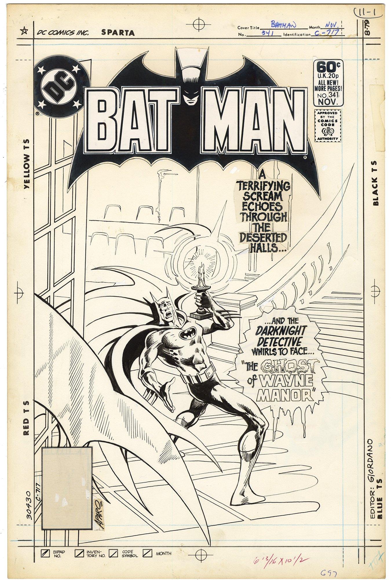 Batman #341 Cover