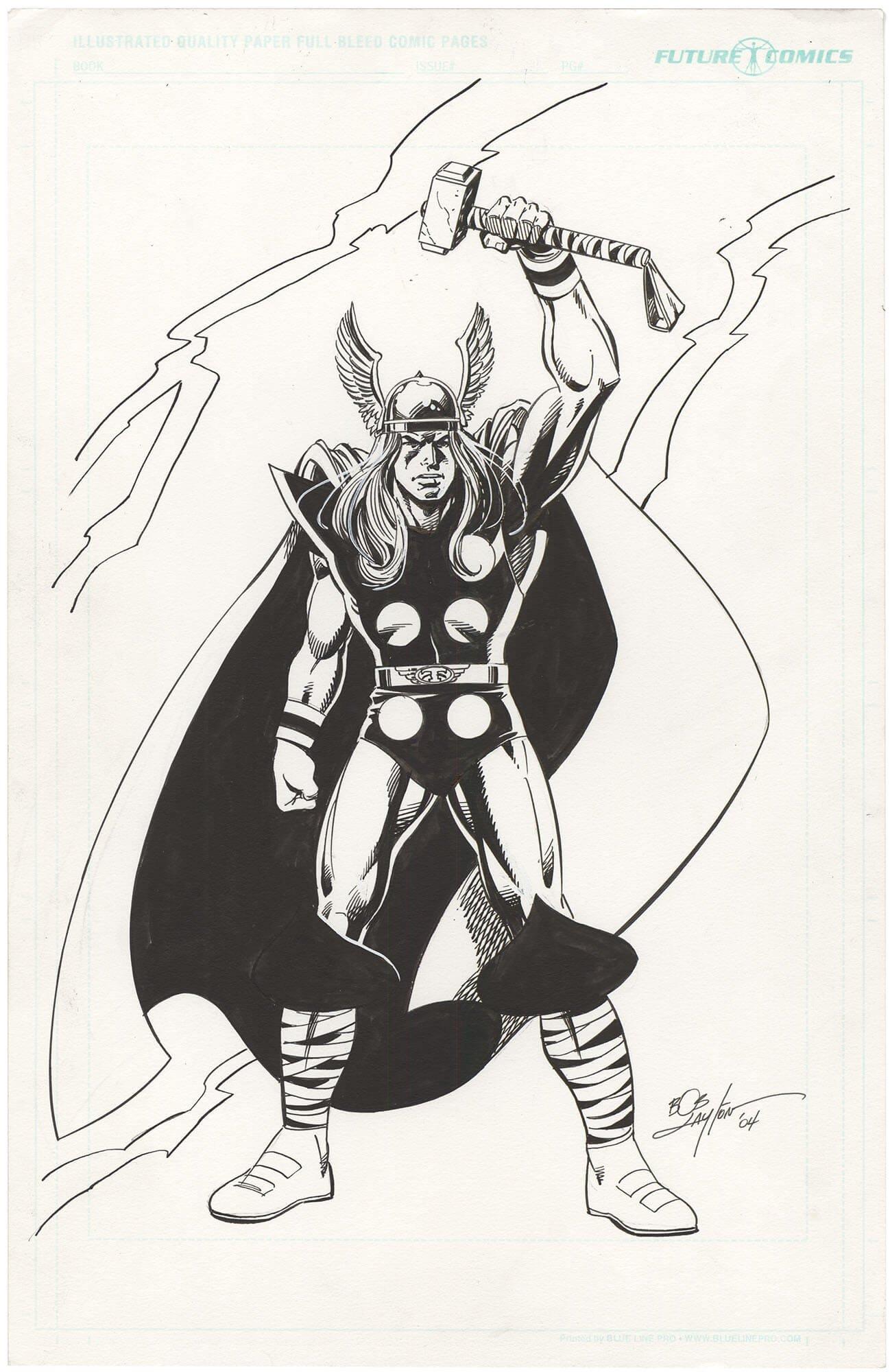 Bob Layton Thor Commission